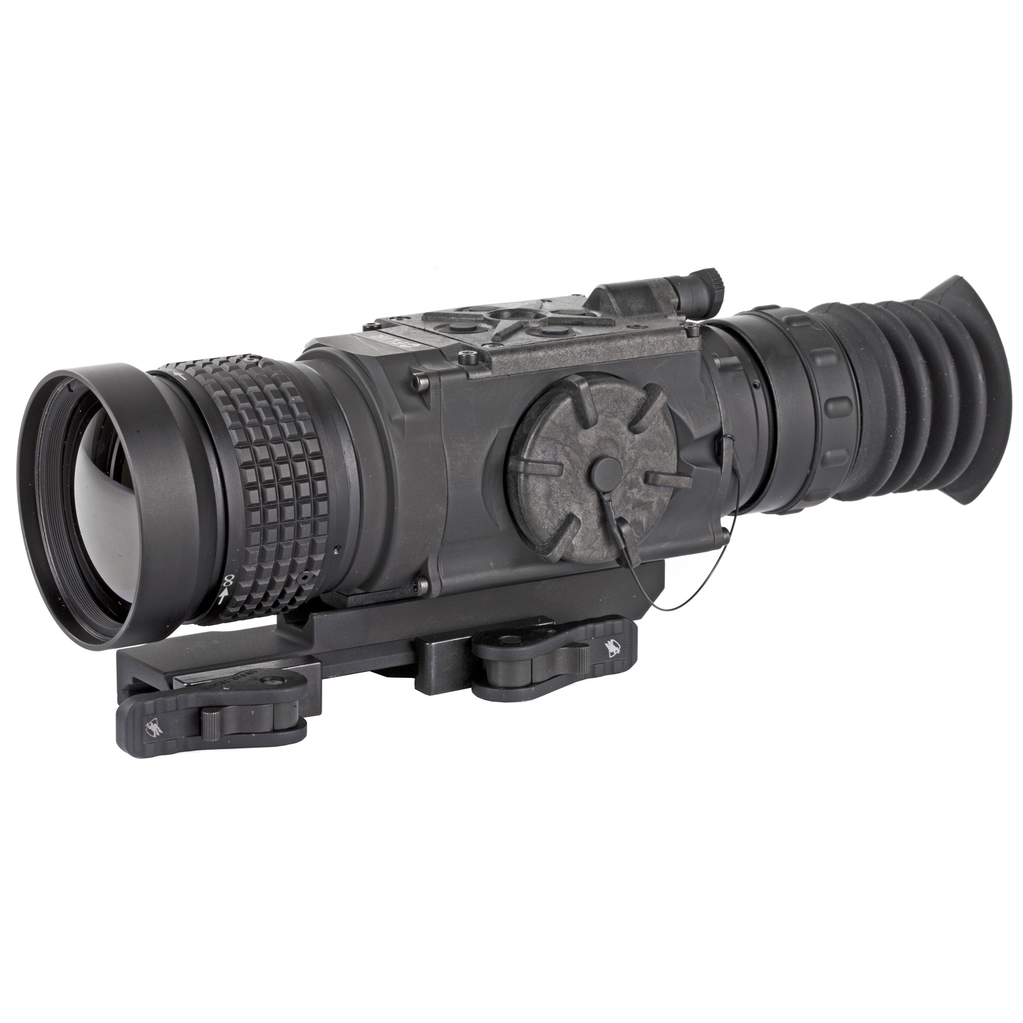 """Powered by the breakthrough FLIR Boson core"""" the ThermoSight Pro Series(R) PTS536 weapon sight sets the standard for thermal detection and classification. Featuring a 12 m pixel pitch sensor and 50mm lens"""" the PTS536 delivers brilliant"""" clean thermal imaging with a focused 4.5 degree x 3.5 degree field of view. The entire ThermoSight Pro Series offers an uncompressed video signal"""" a high definition display"""" and shot-activated video recording."""