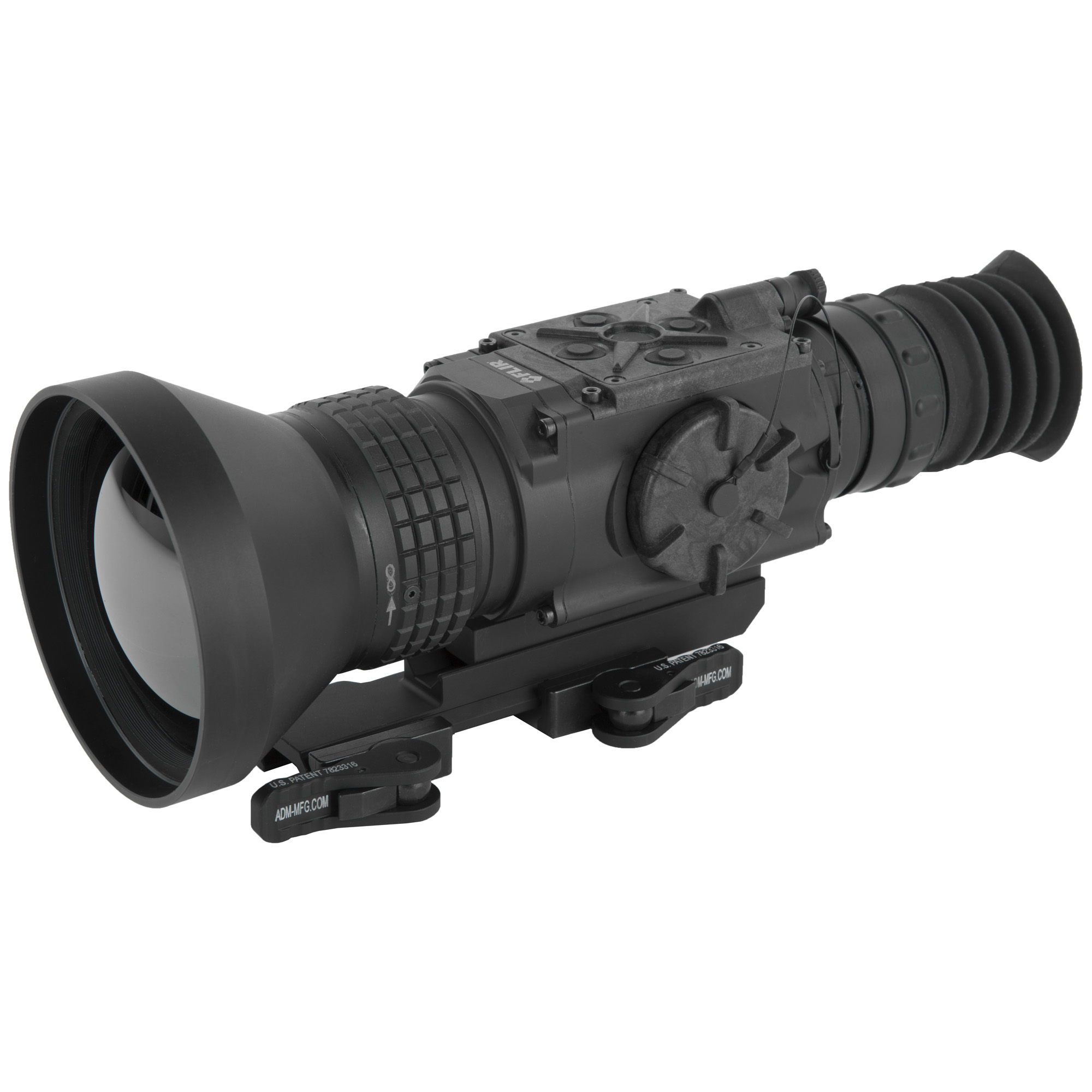 """Powered by the breakthrough FLIR Boson core"""" the ThermoSight Pro Series(R) PTS736 weapon sight sets the standard for thermal detection and classification. Featuring a 12 m pixel pitch sensor and 75mm lens"""" the PTS736 produces brilliant"""" clean thermal imaging with a 3 degree x 2.5 degree field of view for long-range targets. The entire ThermoSight Pro Series offers an uncompressed video signal"""" a high definition display"""" and shot-activated video recording."""