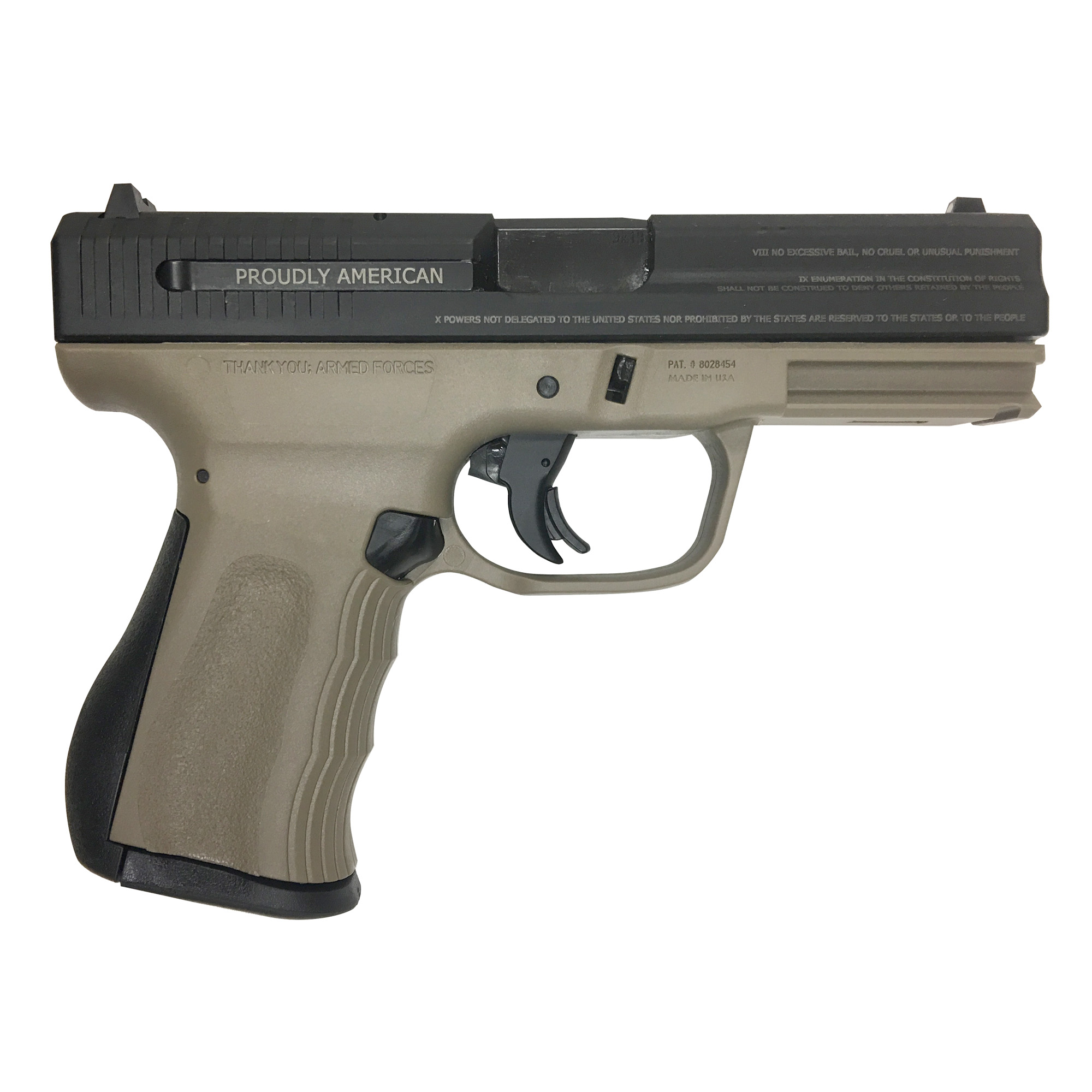 """The 9C1 G2 is ergonomically built to comfortably fit both large and small hands. The barrel is engineered to sit low for superior point and shoot accuracy and reduced muzzle flip. The 9C1 G2 has virtually no external protrusions"""" making it ideal for concealed carry; and of course"""" it's Proudly American."""