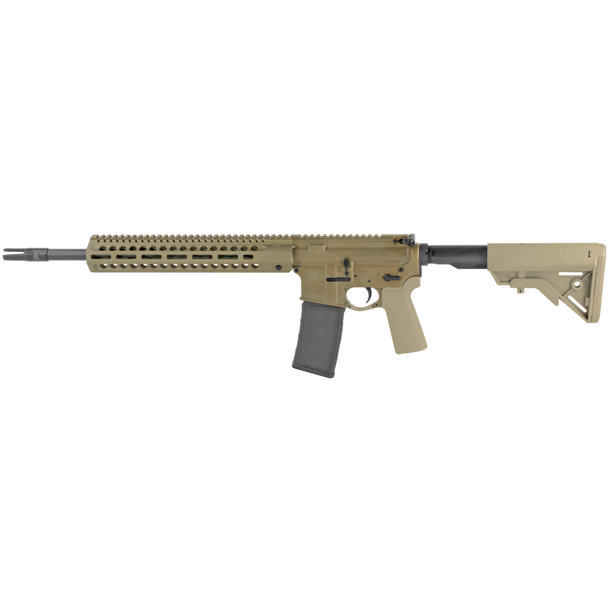"""Based on firearms built to withstand the varied and unrelentingly harsh conditions of battlefields around the world"""" FN brings you the FN 15(R)"""