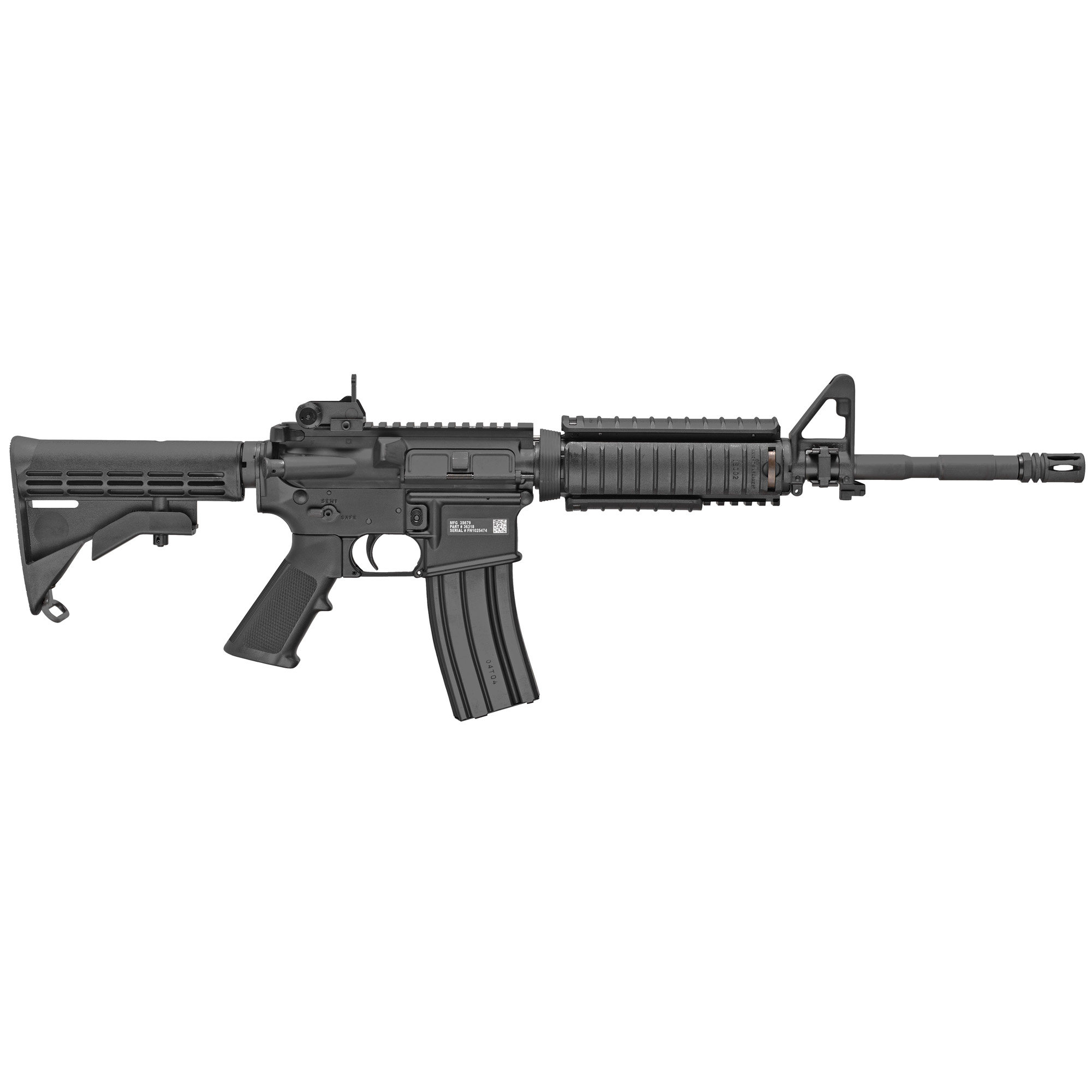 """Own a piece of firearm history from the makers of the world's most battle-proven firearms. The FN 15(R) Military Collector Series M4 brings to market a military replica rifle made to FN's"""" and the U.S. military's exacting specifications."""