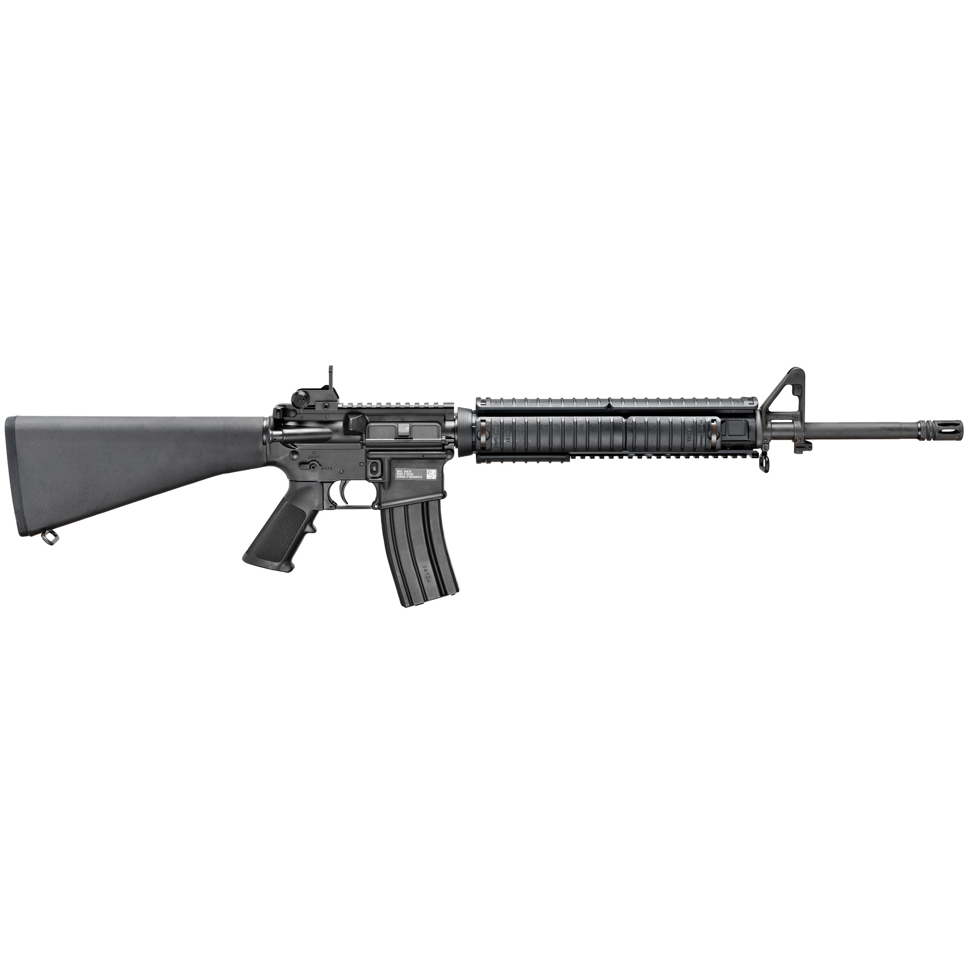 """Directly from the front lines to your collection"""" the FN 15(R) Military Collector Series M16 is a military replica rifle made to FN's exacting specifications."""