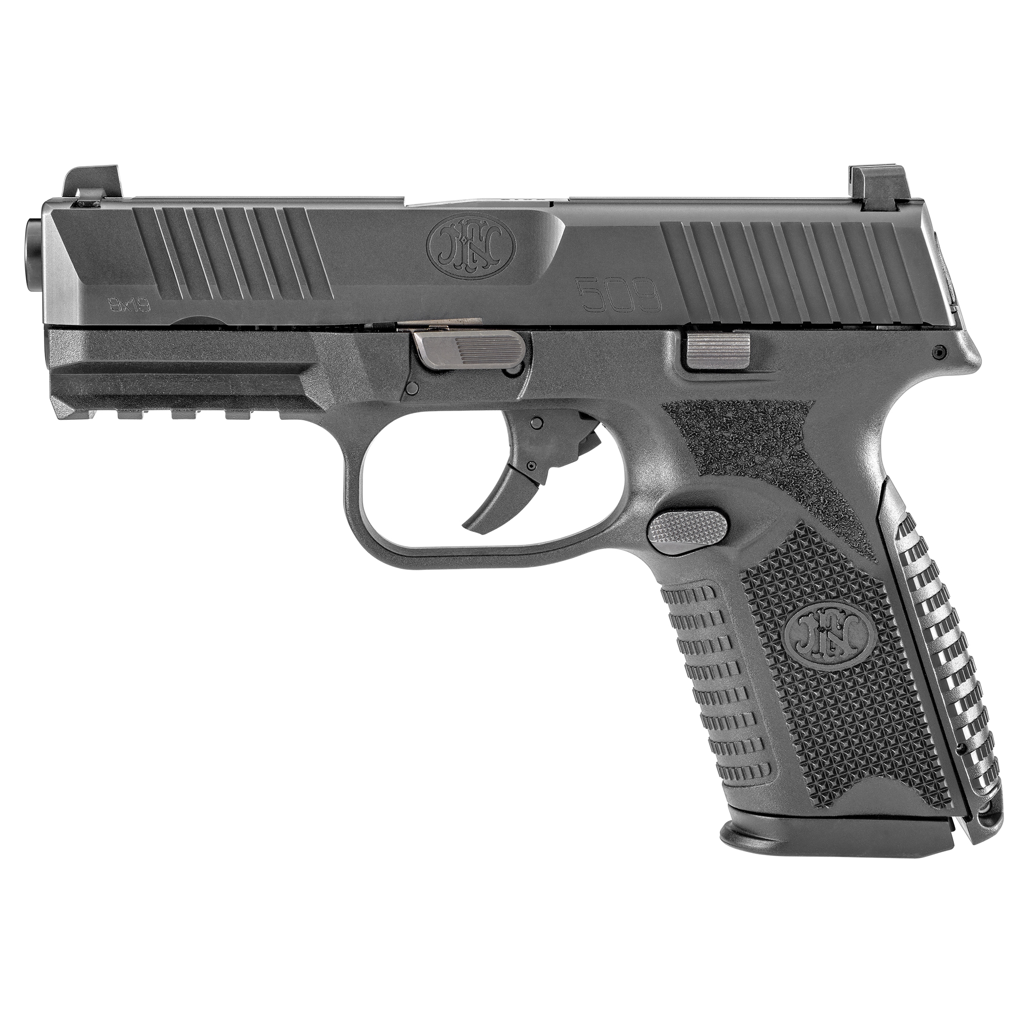 """The FN 509(R) is built on the proven architecture of the FNS(TM) Compact"""" FN made changes internally and externally to meet the rigorous performance standards of the MHS requirements and further developed the platform into the FN 509(R) with the help from industry experts. Over the course of development"""" the platform has been tested extensively for reliability"""" ammunition compatibility and durability - totaling more than one million rounds"""