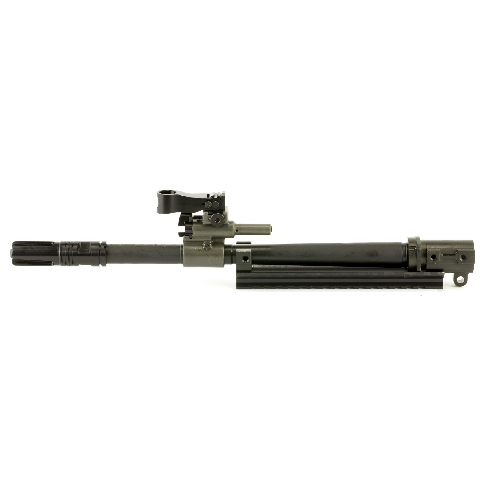 """The FN SCAR(R) barrel assemblies are cold hammer-forged"""" chrome-lined MIL-SPEC steel barrels with front sight assembly"""" gas block assembly"""" gas regulator"""" gas piston and flash hider installed. Available in short lengths for reduced weight"""" fast handling and confined space maneuvering; standard lengths for replacement of existing barrels; and long lengths for increased velocity and extended range capability. Assemblies can be easily installed by the user with a Torx(R) T25 and 62 In Lb torque wrench and are ready to shoot without headspacing."""