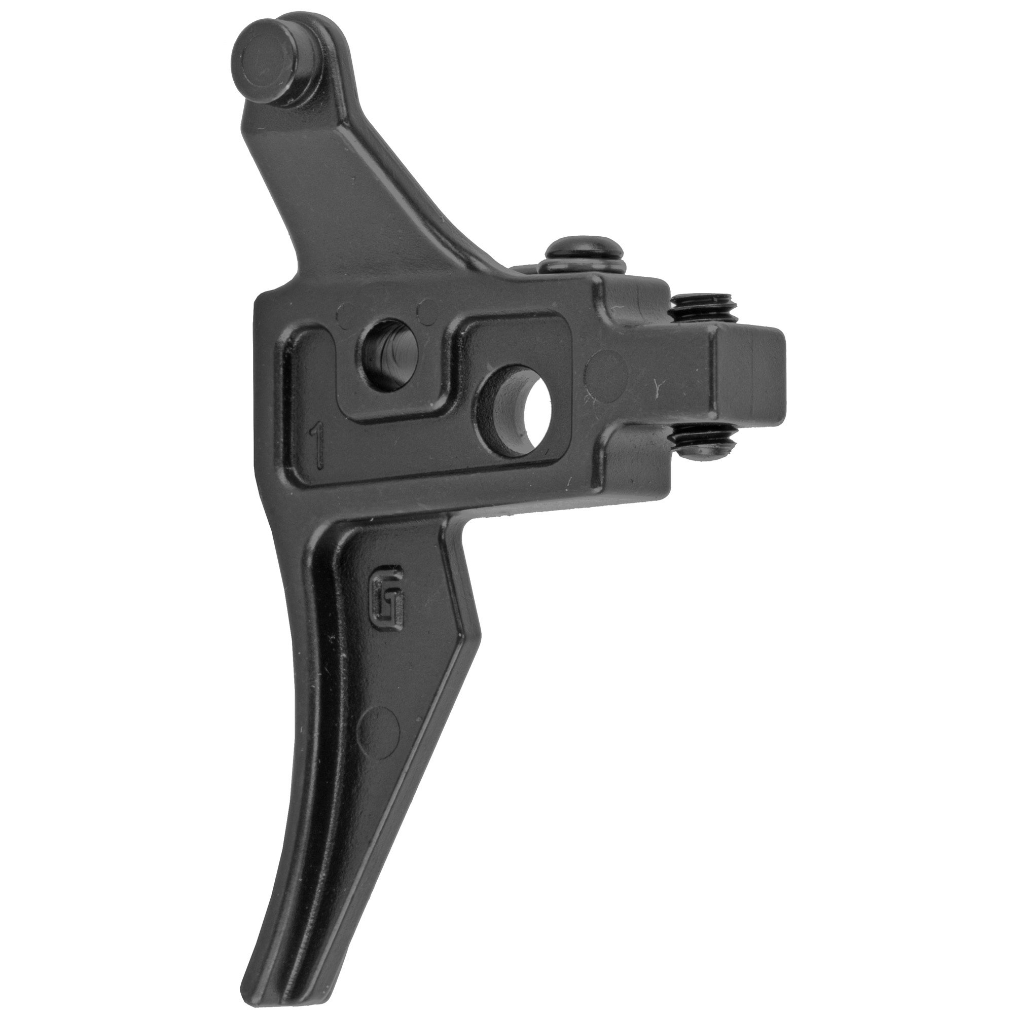 """The Super Sabra Lightning Bow Trigger is designed to replace the standard trigger in IWI Tavor rifles. Once installed"""" the Sabra Lightning Bow is adjustable via a set screw that removes the """"slack"""" that is inherently found in the trigger mechanism of those rifles. By removing the slack"""" the trigger pull is instantly transformed into a feel that is much more familiar to that of an M4 Carbine. Pairing the Sabra Lightning Bow with a Super Sabra Trigger Pack will result in a pull that is truly two stage and has a match grade feel."""