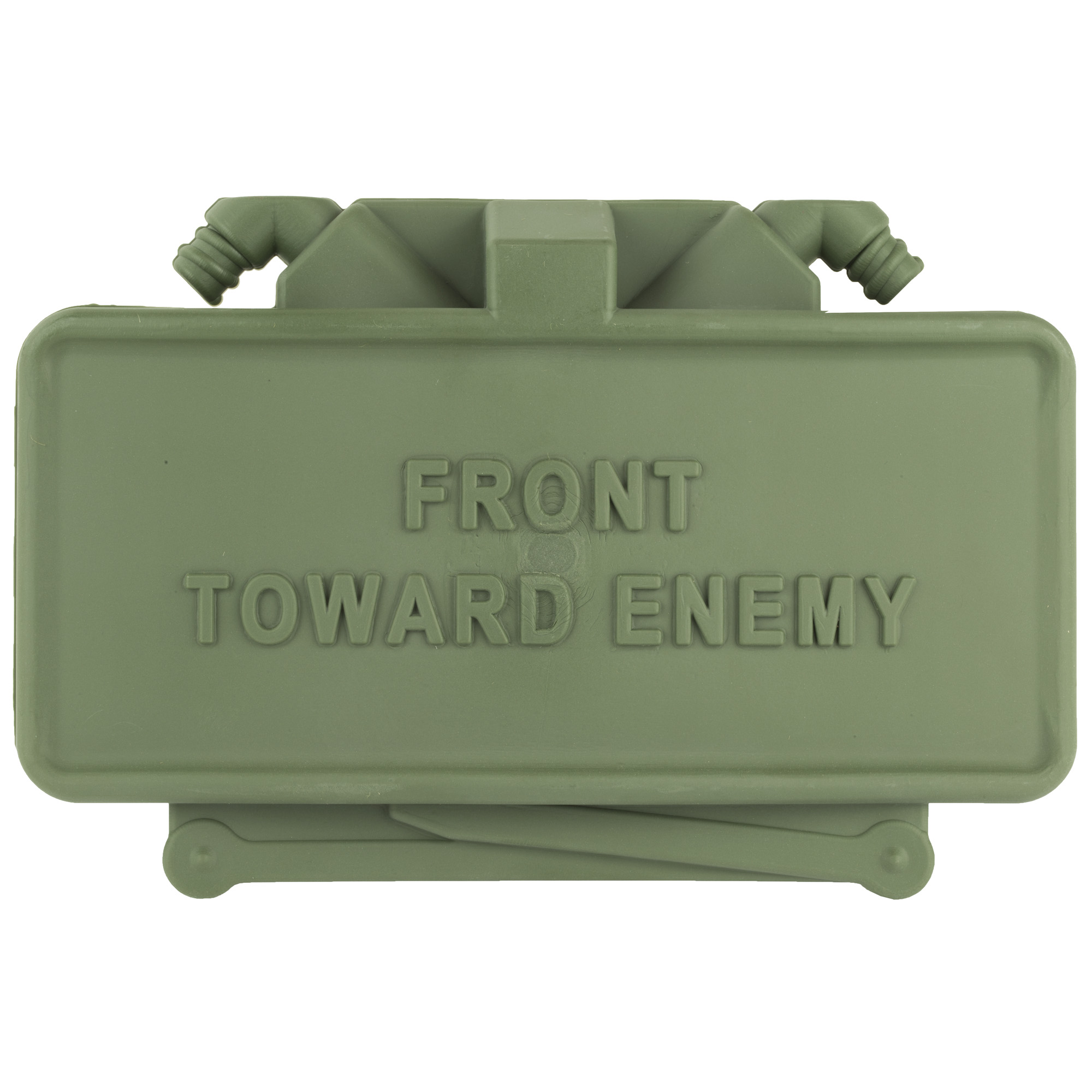 """The GG&G Replica Claymore Mine Hitch Cover will get a second look from the tailgaters in community! They attach to a standard 2"""" hitch receiver and secure with a hitch pin. We strongly advise using a locking hitch pin"""" so it does not disappear."""
