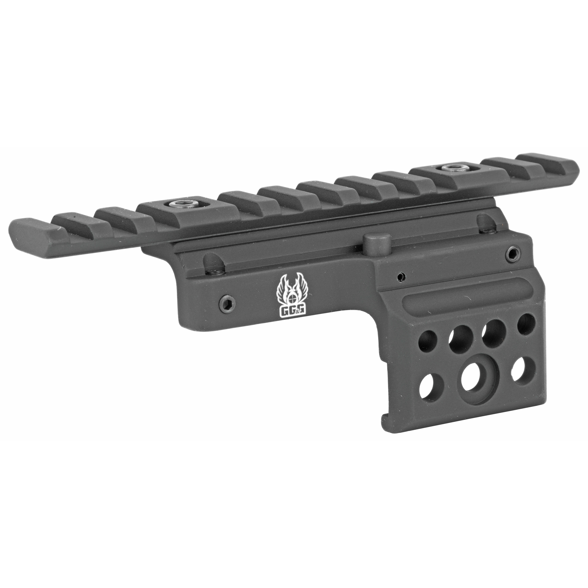 """The series 181 Ruger Mini-14 rifle has remained a very popular rifle with hunters"""" outdoorsmen and women"""" and for home defense. Adding a scope mount and magnified scope or red dot sight is a great addition to your Mini-14. The GG&G Mini-14 Side Mounted Scope Mount provides a solid and rugged mounting base for your optic."""