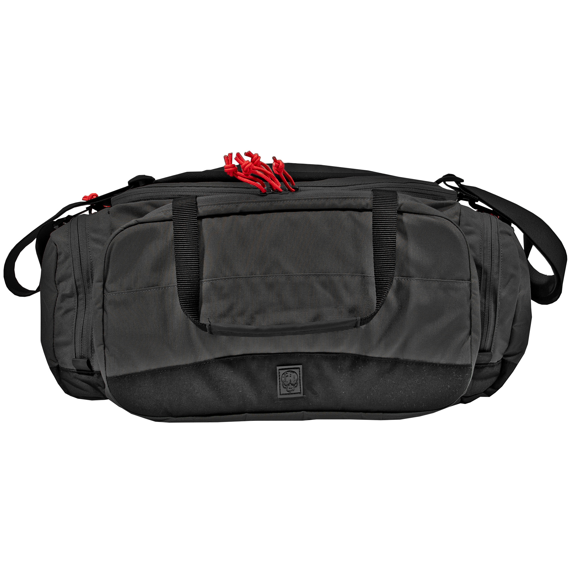 """The Grey Ghost Gear Range Bag will get you to the range with the kit that you need for a day on the range and keep it organized and handy. The bag measures 9 inches tall"""" 20 inches wide"""" and 7 inches deep. 1260 total cubic inches. It is constructed of 500D nylon Cordura. The strap is generous"""" padded and contoured to stay on the users shoulder when they have their hands full. It features full adjustability and is easily removed by disengaging the side release buckles on either side."""