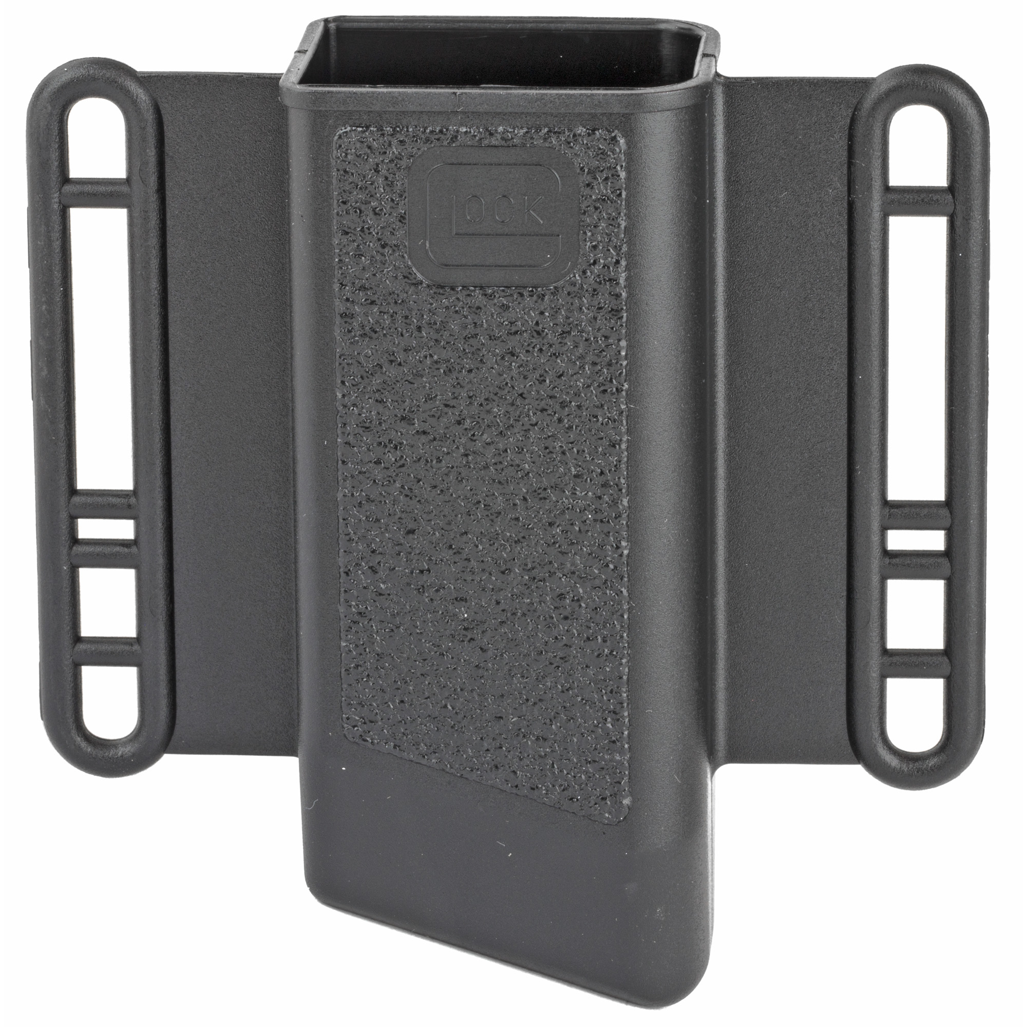 This magazine pouch carries one magazine for Glock 20/21.