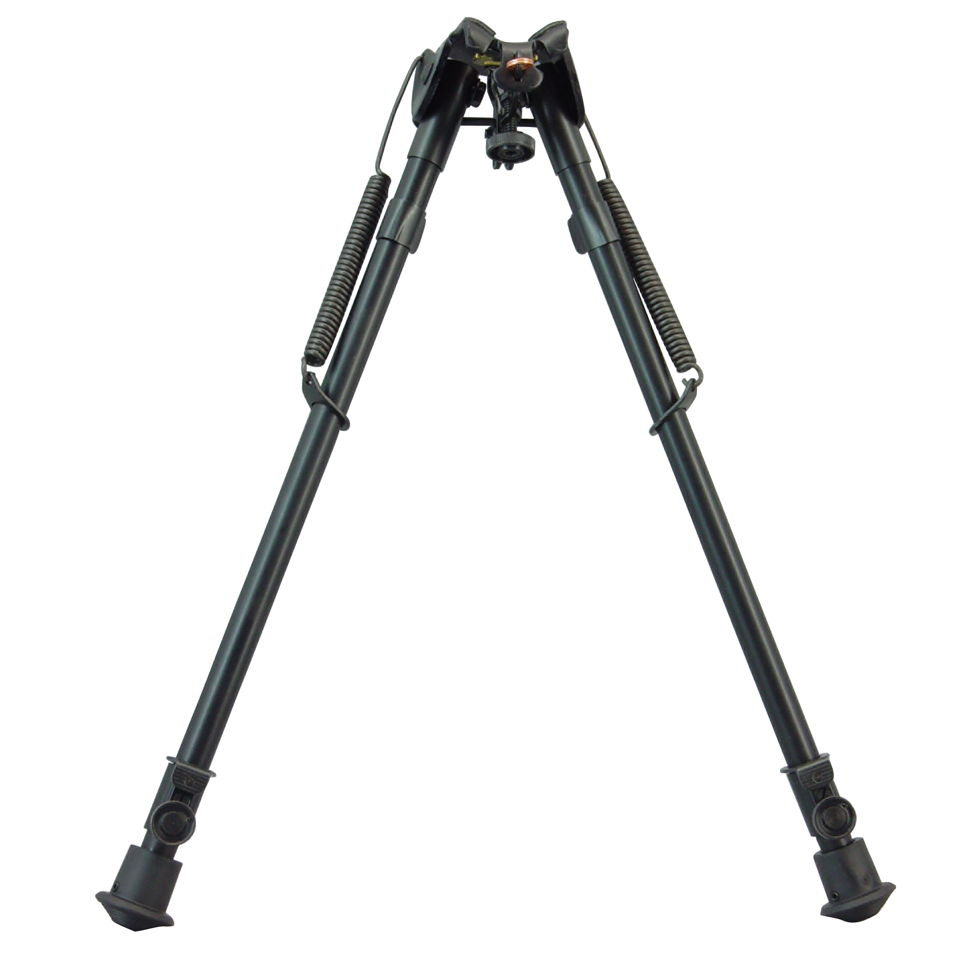 """Harris Engineering's 13.5""""-23"""" High Fixed Ultra-Light Bipod is manufactured using high quality parts to ensure excellent function and sustainable use. It attaches to a Sling Swivel Stud. The bipod features an anodized matte black finish."""