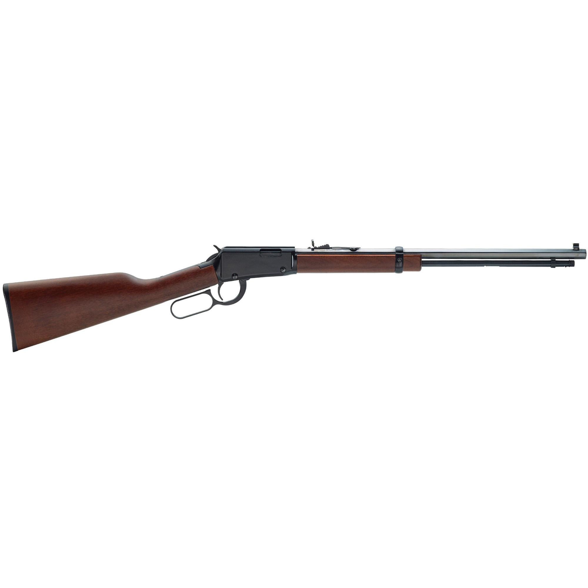 """The Henry Lever Action is a classic Western-style lever action rifle and one of the most popular rimfire rifles on the market today. The reason for its popularity is because it shoots great"""" looks great and is remarkably affordable - about half the price of the competition's rifles."""