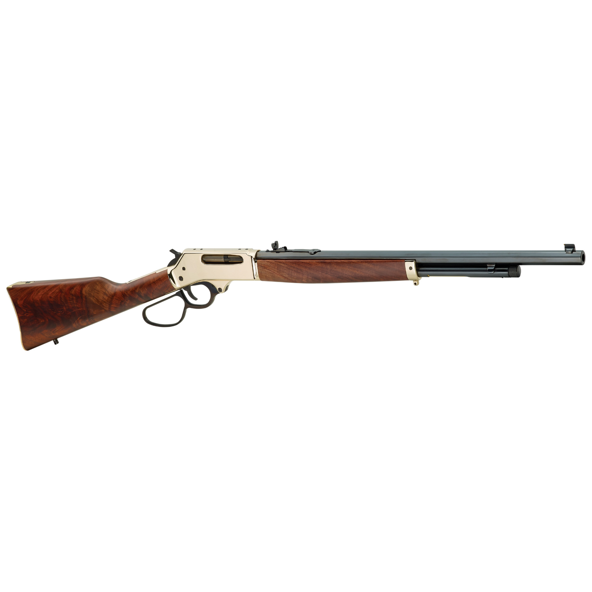 """If you need a handy yet powerful lever gun capable of fast repeat shots in the bear country of Alaska"""" or just a short"""" light rifle for deer hunting in the mountains of Pennsylvania"""" Henry Rifles will provide the accuracy and reliability you can count on."""