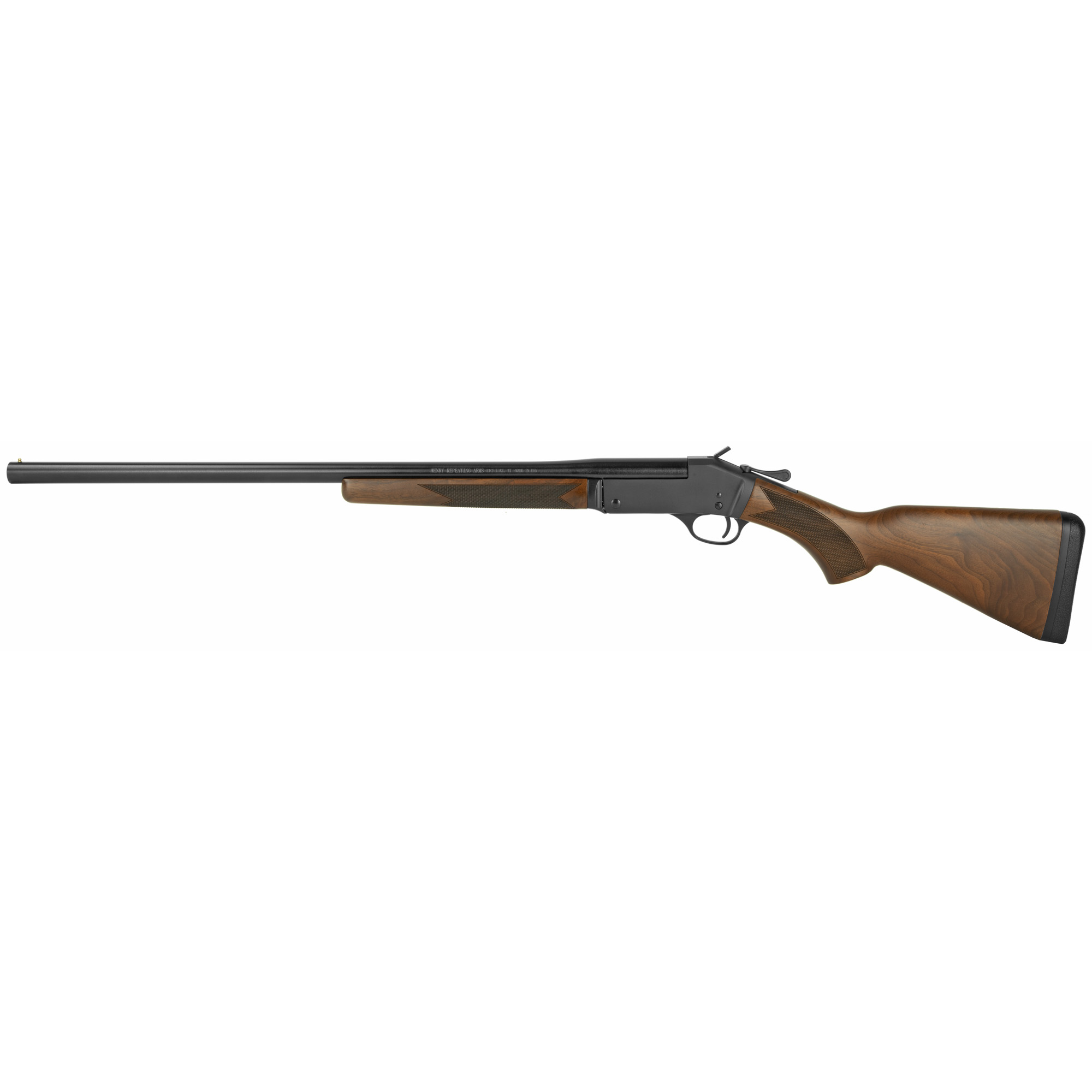 """Whether you like the simple operation"""" the reliable action"""" the nostalgia factor of hunting with a one-shot shotgun"""" or the uncomplicated first-gun introduction for a new shotgunner"""" Henry built this shotgun for a wide variety of shooters."""