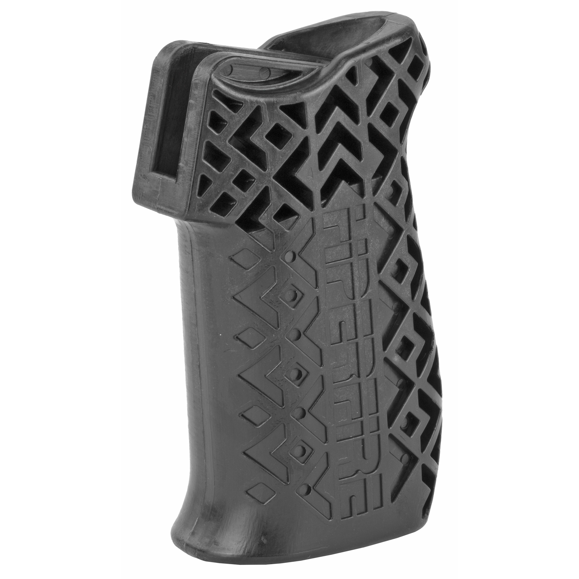 This Hipergrip is a high performance MSR pistol grip. It is truly ergonomic for superior rifle control. Fits AR-15/AR-10.