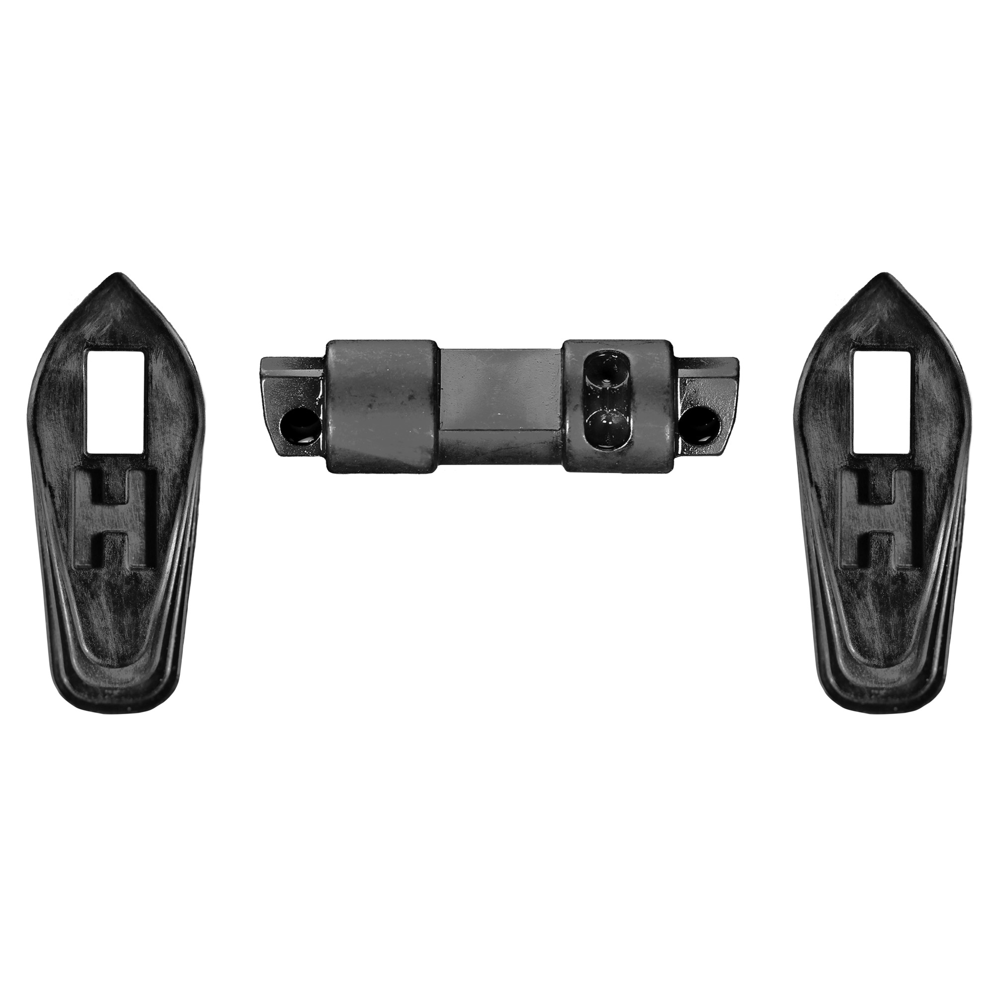The HIPERSWITCH (High Performance Switch) is an ambidextrous safety for your AR15 or AR-10 that is 100% compatible with HIPERFIRE triggers. It features a 60 degree swing between SAFE and FIRE (much safer than 45 degree versions that can be rotated into FIRE by the trigger when on SAFE). The HIPERSWITCH levers are uniquely designed for tactile access making the selection action in either direction feel shorter than 60 degrees.