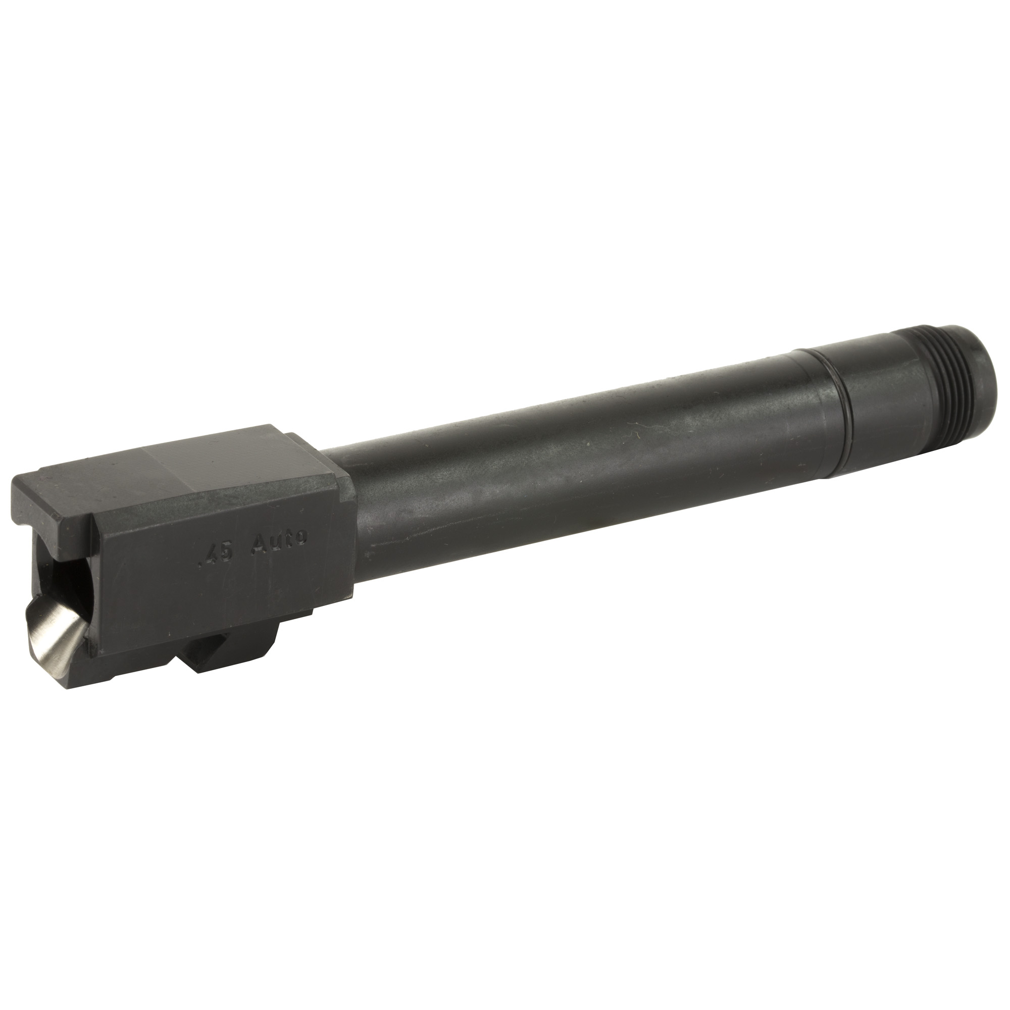 """Spare barrel for USP45 Tactical or upgrade USP45 to accept threaded suppressors or other muzzle attachments. Drop in part for all USP .45 full size"""" USP 45 tactical pistols (EXCEPT USP45 EXPERT). WILL NOT FIT THE COMPACT MODELS OR THE NEWER HK45 PISTOLWILL NOT FIT THE COMPACT MODELS OR THE NEWER HK45 PISTOL."""