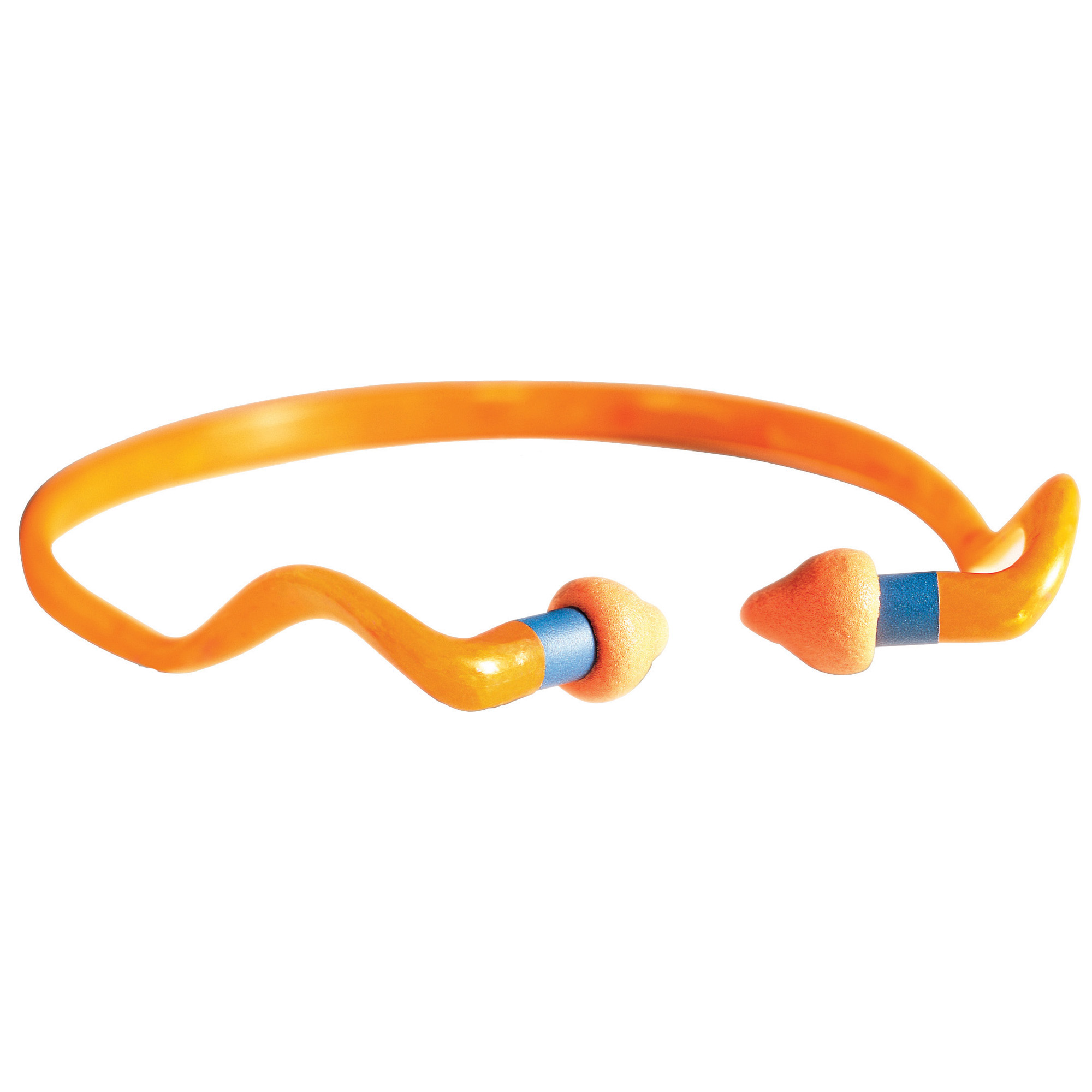 """This specially-designed headband rests comfortably around neck when away from shooting noise to keep the earplugs away from dirt. Soft"""" ergonomic foam pods rest partially in ear for a balance of comfort and protection. Quick insertion design for easy on/off on the range or in the field."""