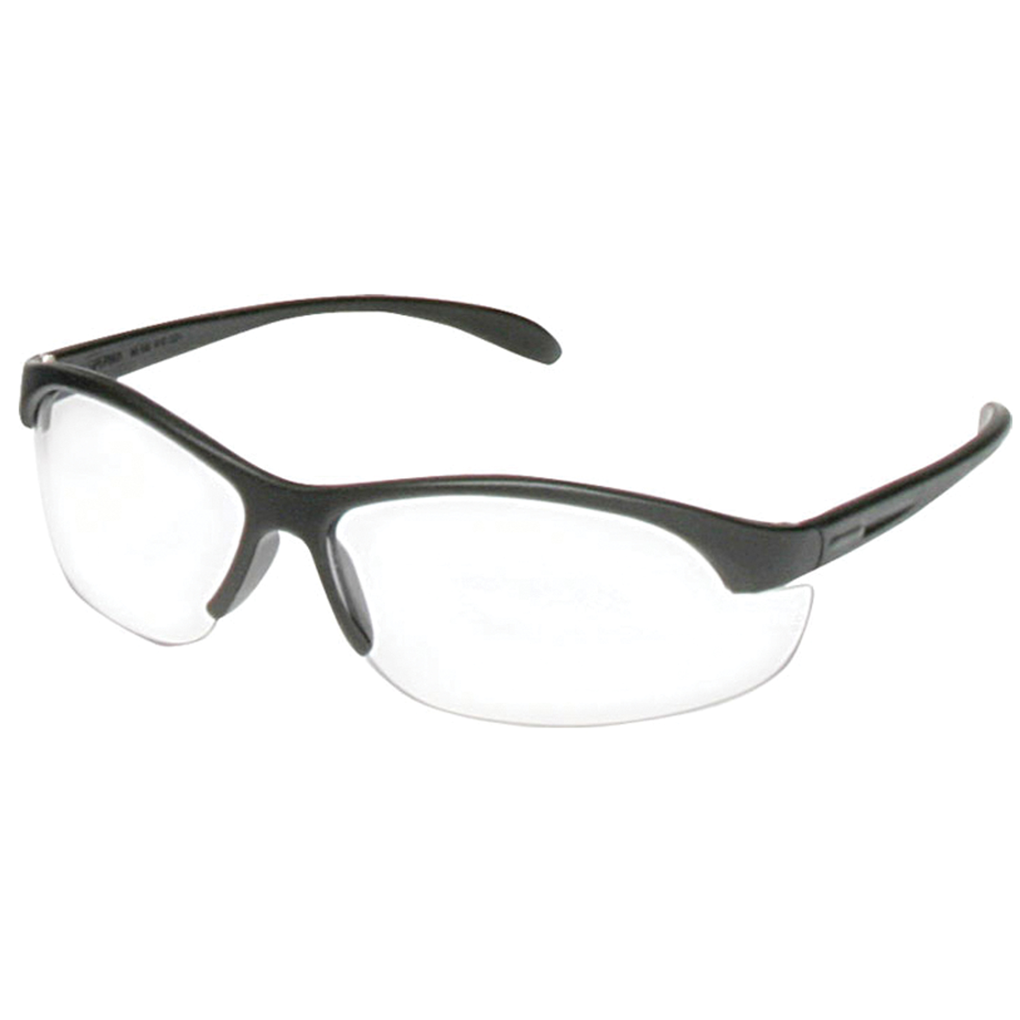 """Howard Leight Youth Safety Glasses feature a lightweight wrap-around lens design"""" giving these safety glasses substantial coverage and a distortion-free 180 degree field of vision. The universal nose bridge and soft temple tips provide a comfortable fit."""