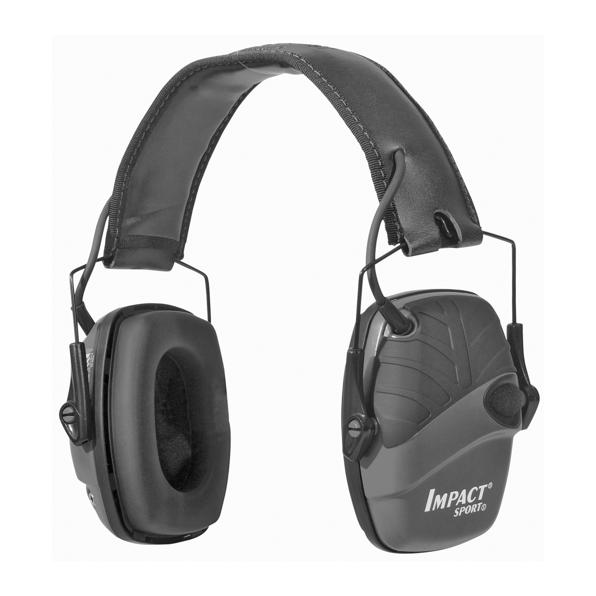 """The Impact enhances user awareness through advanced sound amplification technology. It allows wearers to hear important communication - other co-workers"""" alarms and warning signals - at a safely amplified level. Positioned microphones provide more natural"""" directional hearing. Through an advanced response technology"""" Impact reverts to passive earmuff mode when noise reaches 82 dB or above."""