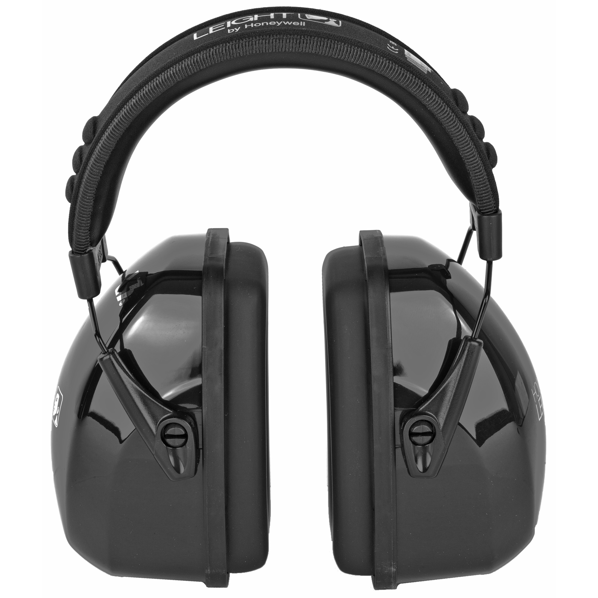 """The Leightning series steel-wire construction provides high performance and robust durability. These earmuffs stand up to daily use and abuse without compromising comfort. Howard Leight has optimized the Leightning series to deliver the highest level of comfort available"""" featuring an exclusive padded foam headband and super-soft ear cushions that eliminate that """"squeezing"""" pressure on the head. The Leightning series also features Bilsom Technology's patented Air Flow Control technology for optimal attenuation across all frequencies and snap-in ear cushions for easy maintenance."""