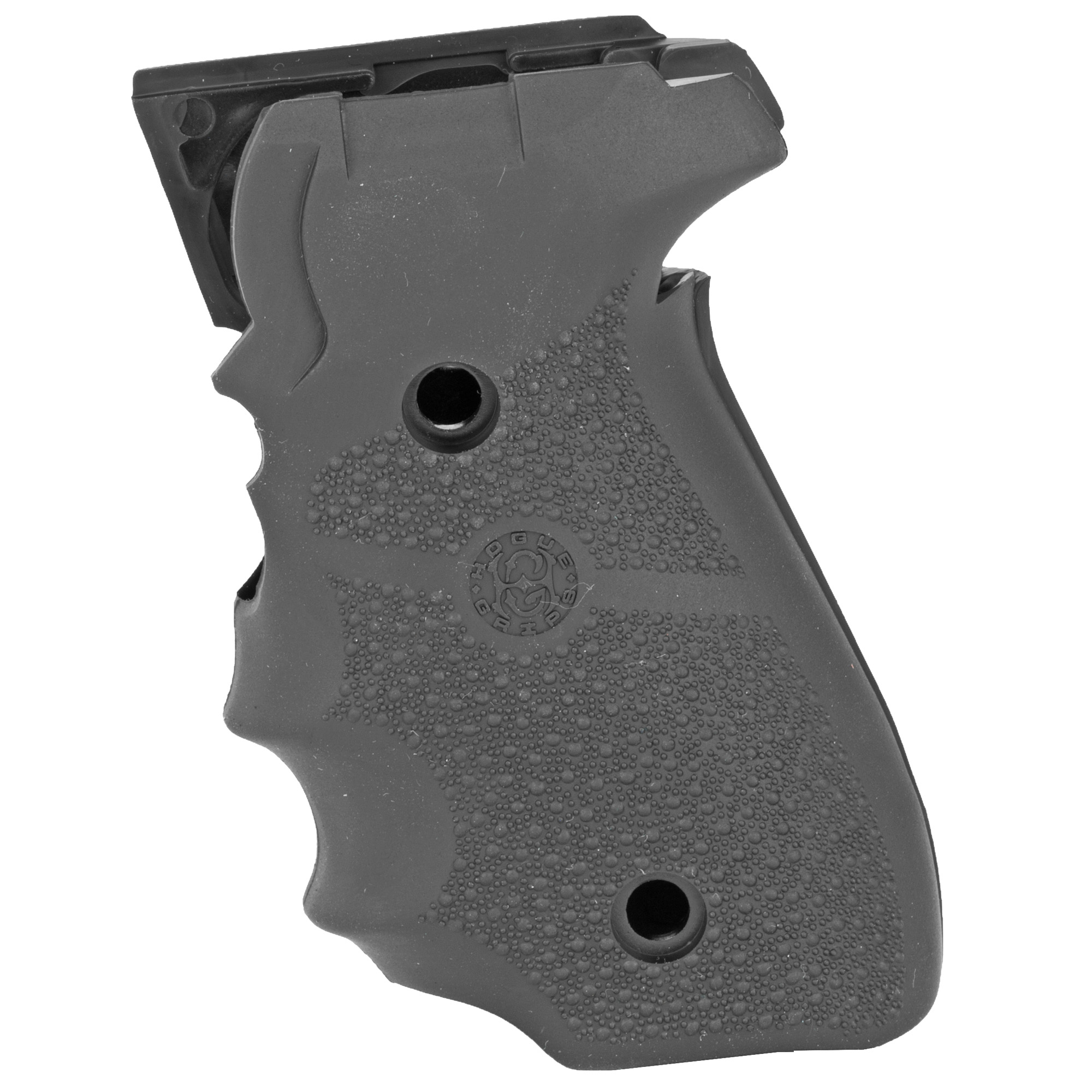 "Cobblestone texture on these soft rubber grips allows for maximum handgun control and tension flexibility. The attractive and nonirritating stippling give a modern appearance while providing the control all firearm enthusiasts desire. They are easy to install and enhance performance. Fits Sig P228"" 229."
