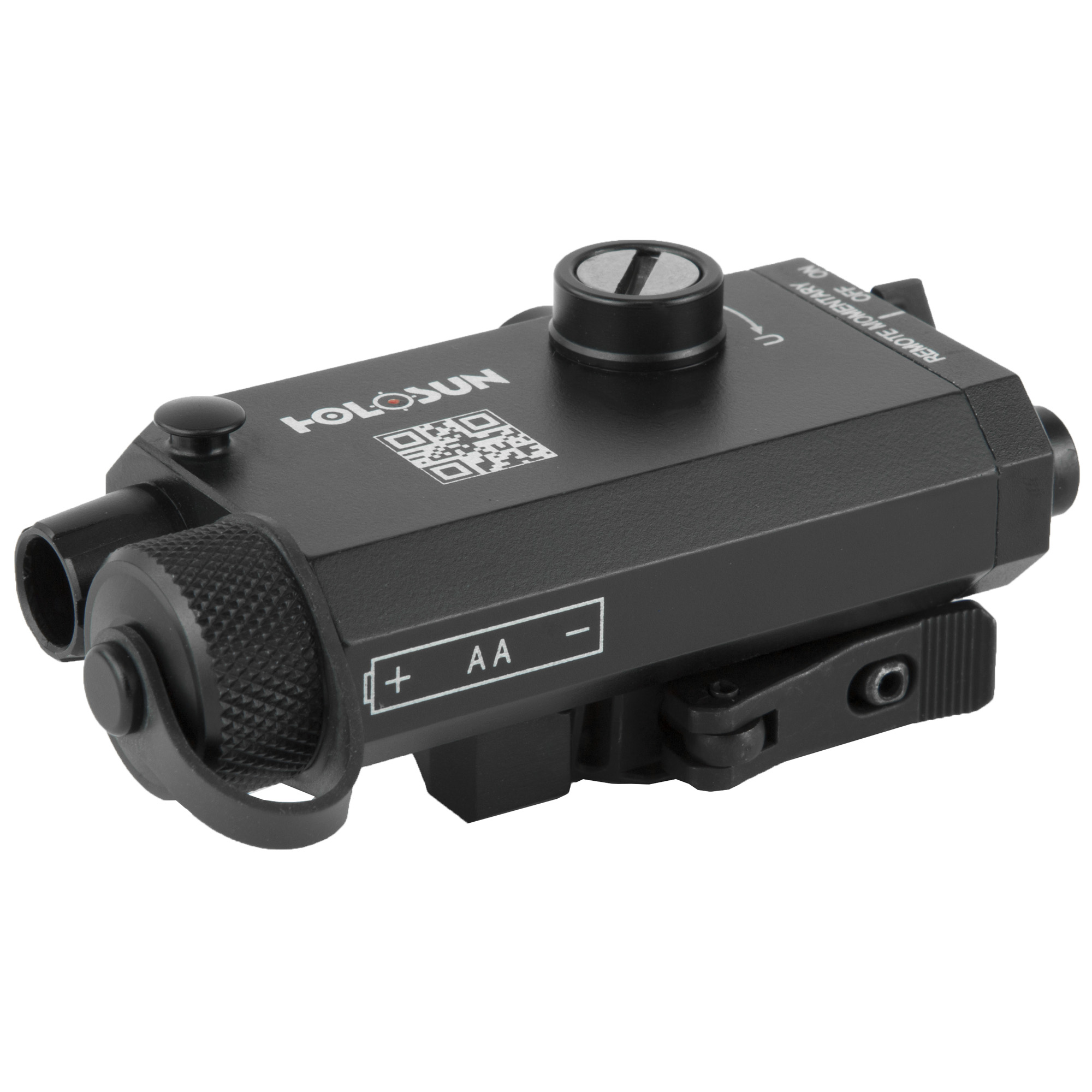 LS117R is a compact and lightweight single-beam laser sight. Fully adjustable windage and elevation allows for greater accuracy to make that perfect shot in adverse lighting conditions.
