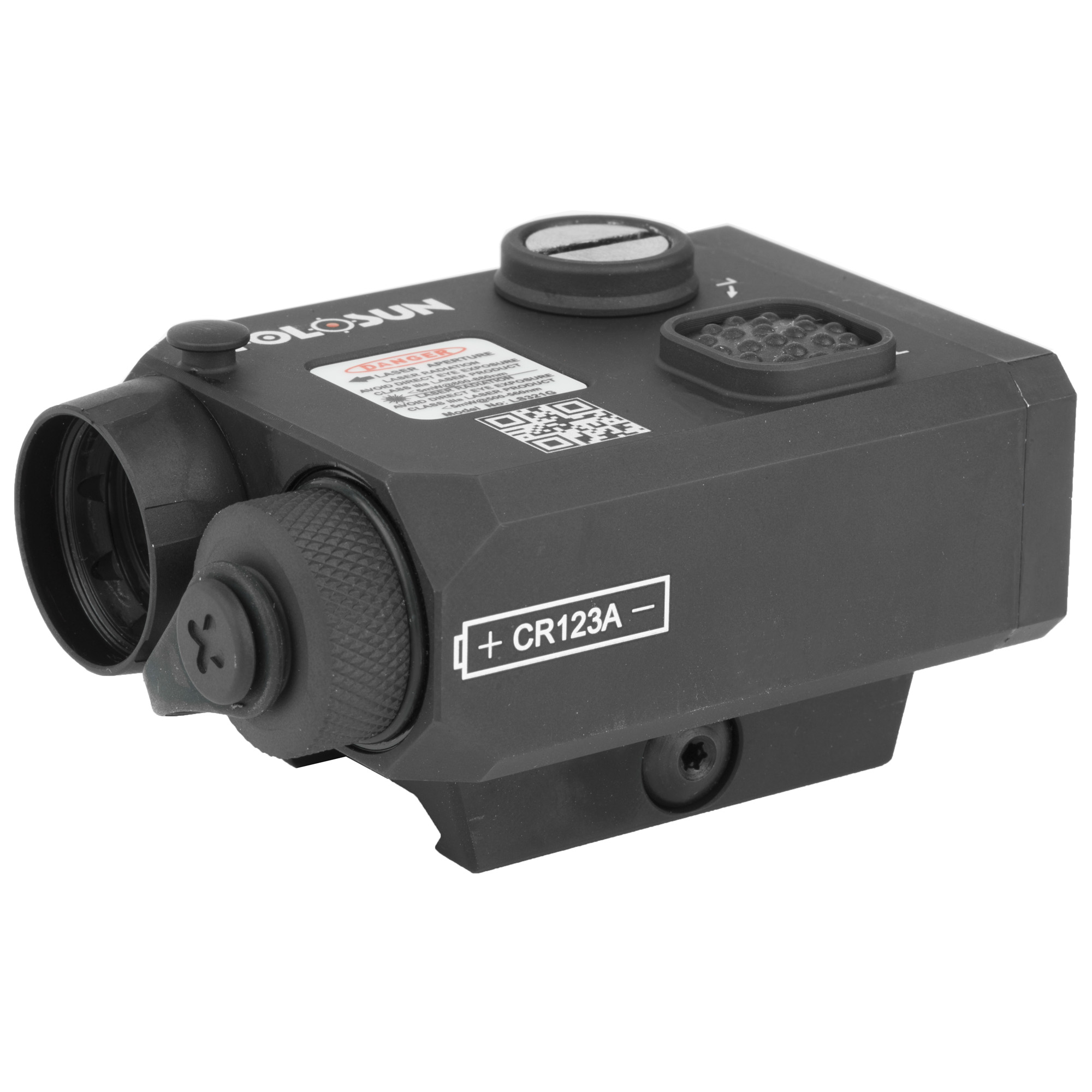"""LS321 is a multi-laser device that integrates green laser"""" IR laser and IR illuminator. It has a mode selector to choose the different functions. The operator uses W&E adjuster to adjust the 3 laser beams at the same time. The IR illuminator-focusing knob is located at the rear of the unit for ease of adjustment for operator."""