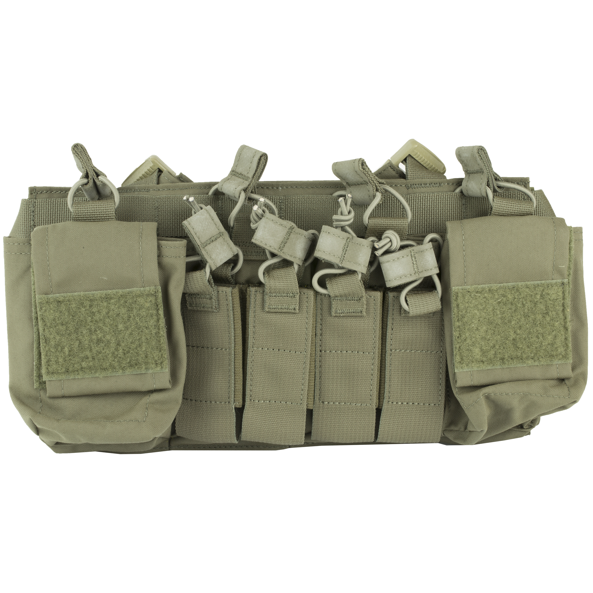 """The NEW Disruptive Environments Chest Rig X has been redesigned to improve comfort"""" storage capabilities and work seamlessly with D3CR accessories. The X harness was added for comfort and ultimate adjustability. The addition of 2 Multi-Mission pouches allows the rig to be more streamlined and carry mission essentials where they count. The full field of Velcro allows the rig to be outfitted with the latest D3CR accessories as well as assist in the full contact connection with plate carriers. Just like it's predecessor"""" it is designed and optimized for work in urban"""" vehicle"""" rural and other confined settings. When used as a stand alone"""" the platform is low profile enough to be worn fully loaded and not print on a normal/loose fit jacket or sweatshirt. When used on a armor platform with a quick release system"""" such as SwiftClips"""" it can be attached or stowed in seconds"""" giving the end user the versatility to transition from low vis to high vis or vice versa."""