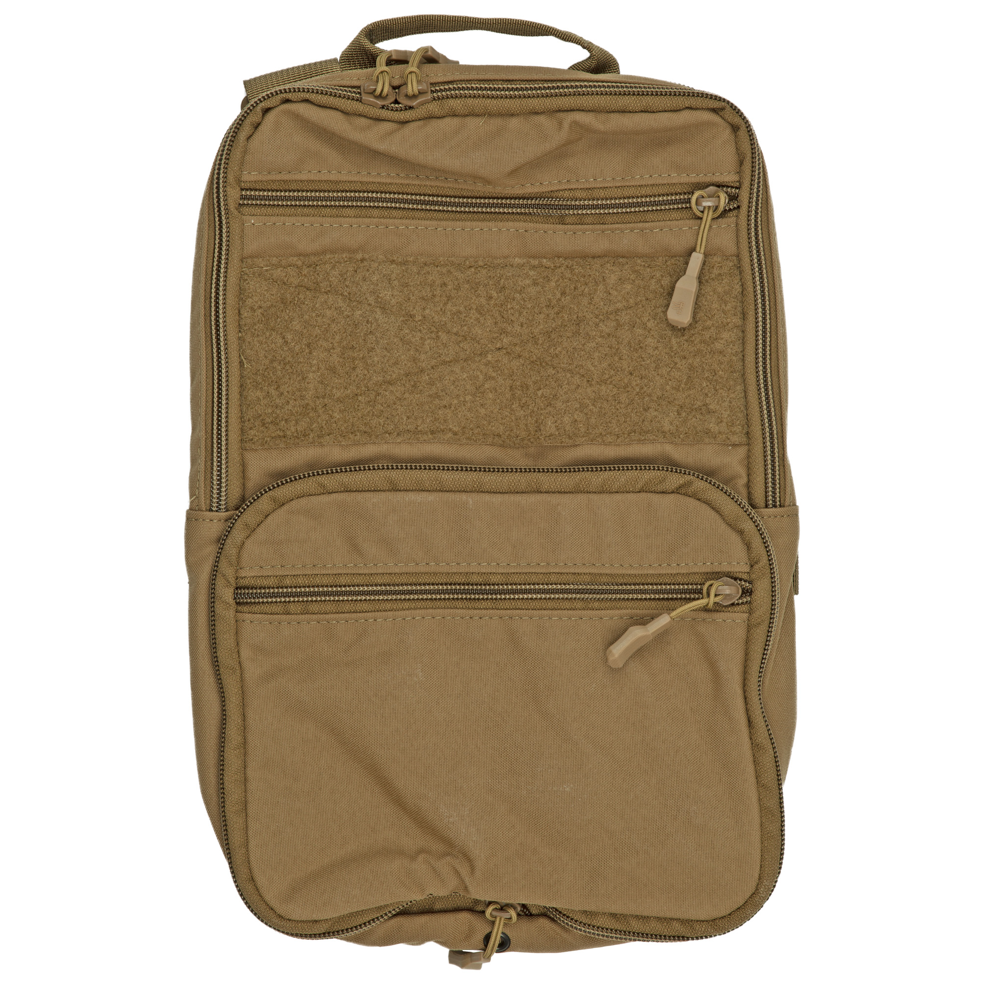 """Designed with a unique expandable gusset system"""" the D3 FlatPack is an assault pack that can go from an almost flat profile when compressed to 600 cubic inches when completely expanded."""