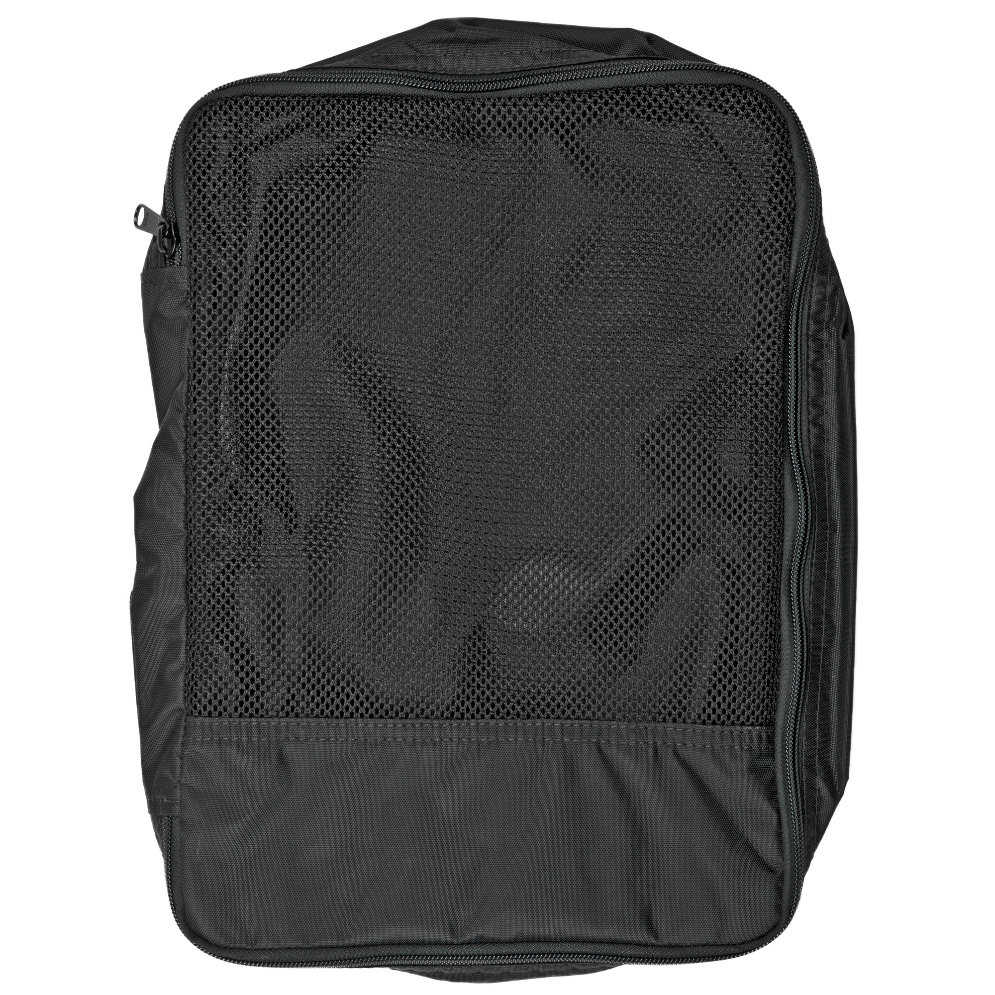 The Garment bag was designed to easily organize clothing and similar soft goods. It can fit comfortably five garments or a fully loaded D3CRX. Fits in the Flatpack Plus and Incog Rifle bags.