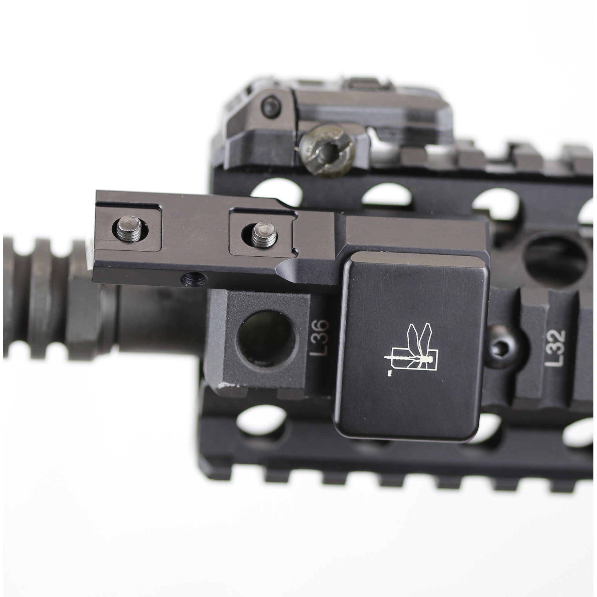 """THORNTAIL SBR Light Mount is designed to accept Surefire M300/M600 Scout"""" Streamlight Rail Mount 1/2 & HL-X Weapon lights and Backbone Replacement M300/M600 Scout Bodies and other Replacement M300/M600 Scout Bodies."""