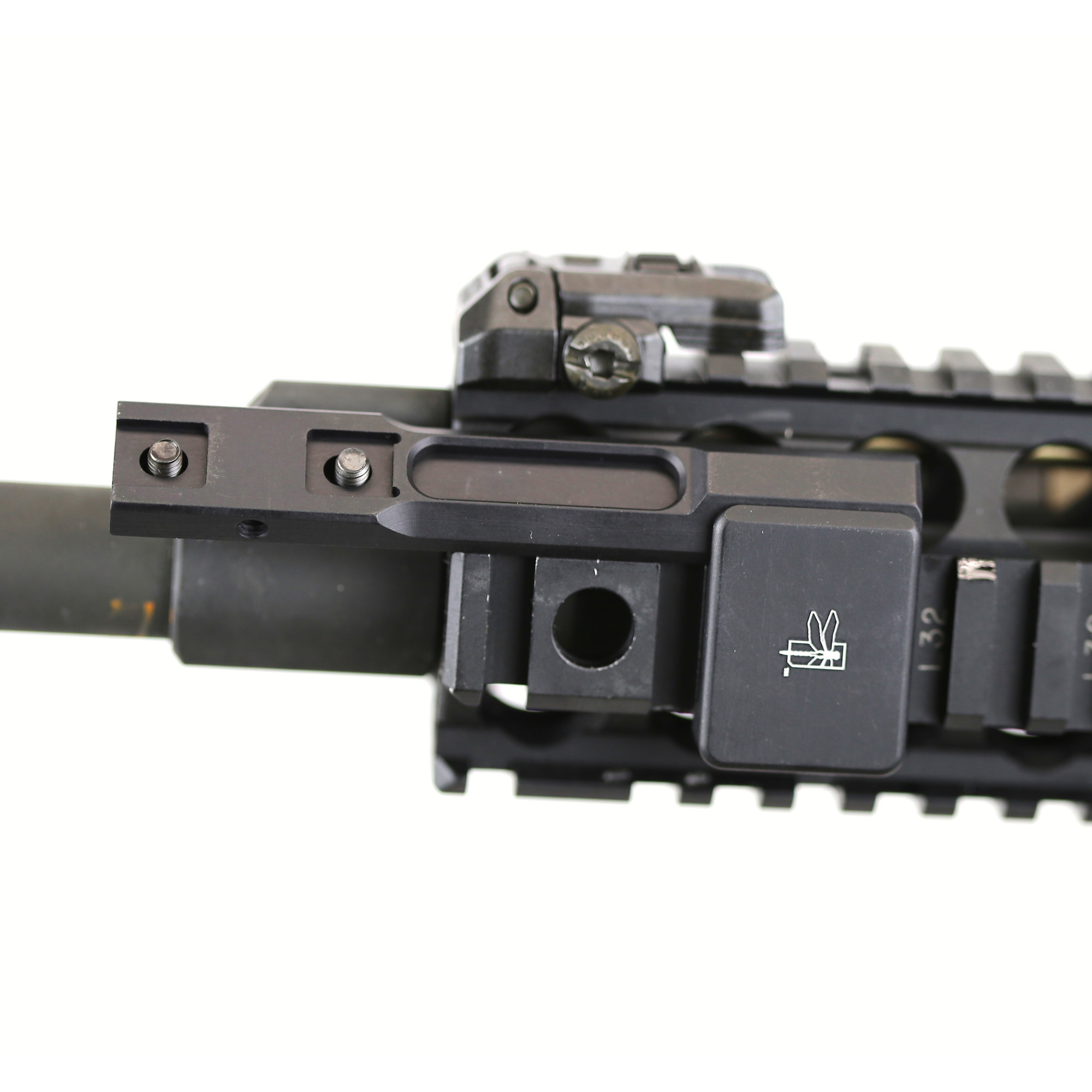 """Impact Weapons Components Thorntail Offset Adaptive Light Mount is designed to accept Surefire M300/M600 Scout Light. It is specifically designed to extend the weapon light several inches beyond the end of the forend or rail system. Thorntail attaches to any 1913 Picatinny rail"""" is fully ambidextrous and provides 8 different mounting solutions on a single rail system. Each Thorntail comes complete with the necessary instructions"""" tools and hardware required to attach your light to your weapon."""