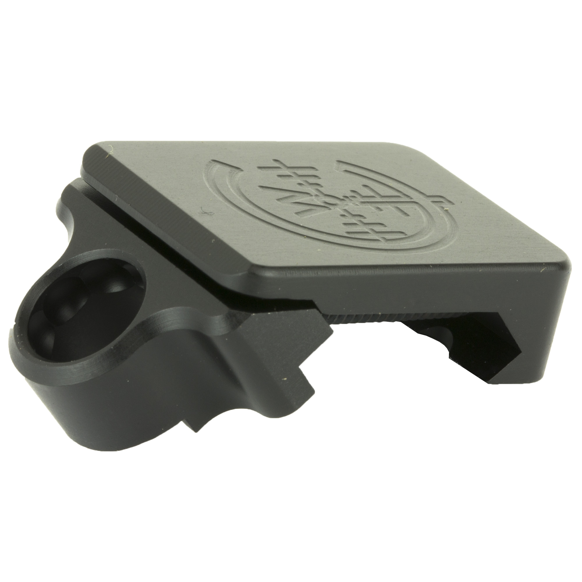 THE LOWEST PROFILE QD Rotation Limited Sling Mount. PERIOD! 45 Degree Offset design recesses the Quick Detach Socket as close to the centerline of the weapon as possible for maximum clearance. Directly attaches to all Picatinny MIL-Spec 1913 & STANG Rails. Compatible with all Push Button QD Sling Swivels.