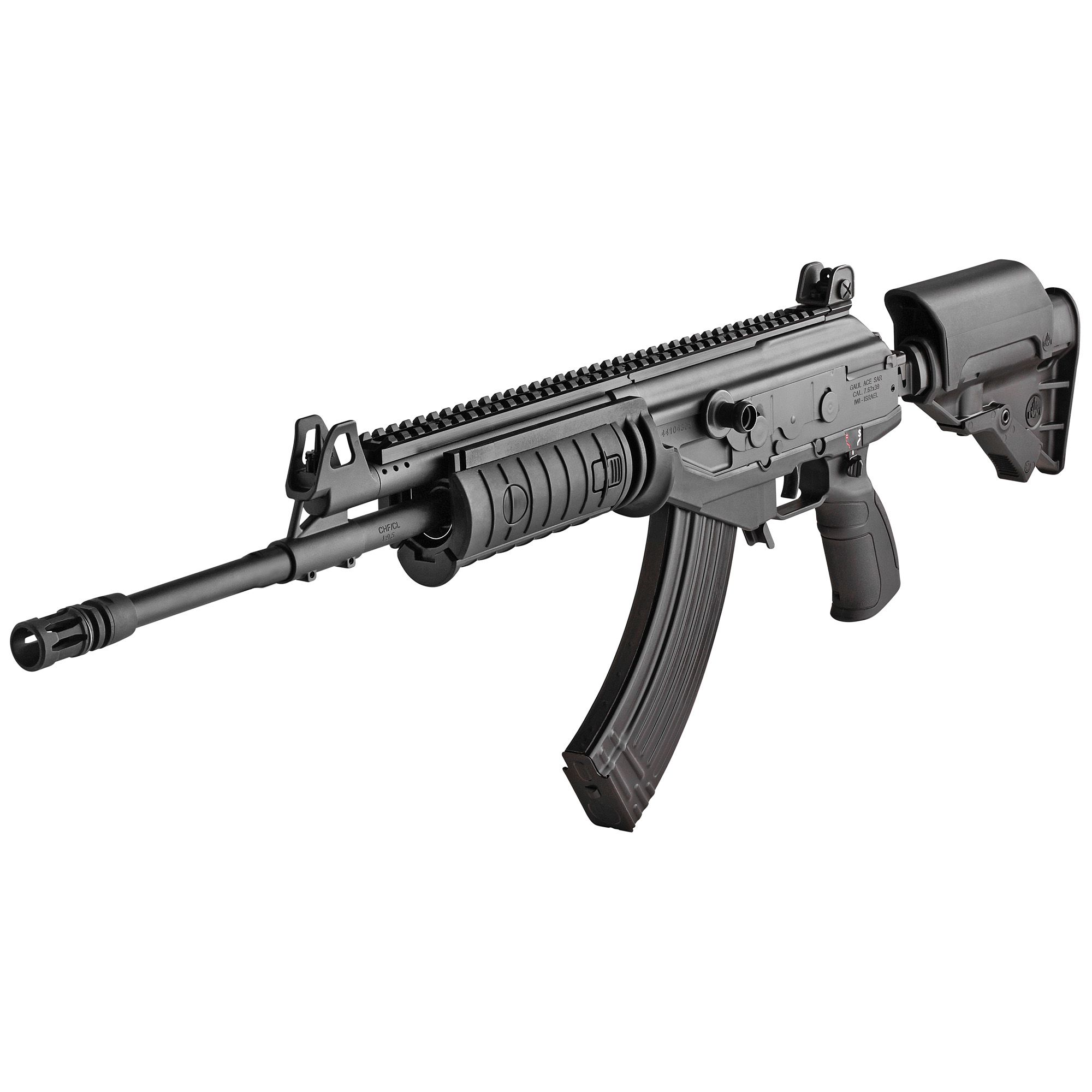 """The modernized Galil ACE is based upon the reliable mechanism of the original Galil rifle first developed by IMI in the late 1960's. Drawing inspiration from the legendary Russian AK-47 and the Finnish Valmet RK 62"""" the IWI Galil ACE has been continuously improved over the last 40 years"""" resulting in today's extremely reliable and highly accurate Galil ACE."""