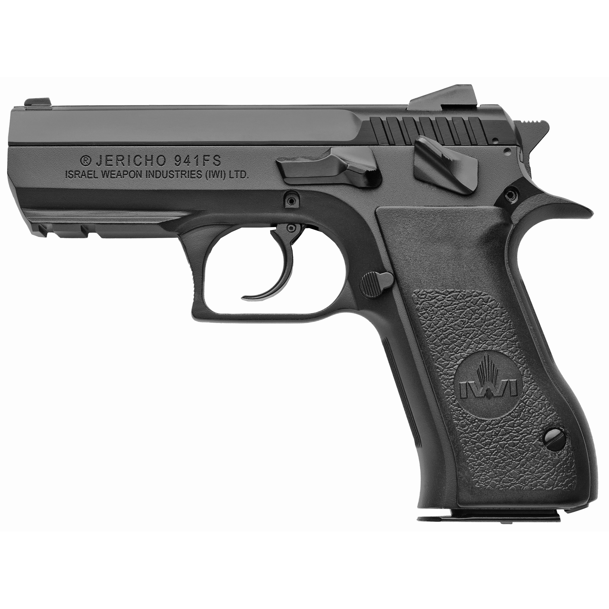 """First introduced in the US in 1990"""" the Jericho 941 has enjoyed wide acceptance by American shooters over the last 25 years. Based on the highly regarded CZ-75 short recoil system"""" Jericho pistols combine proven design and function with IWI's exceptionally high standards for reliable performance"""" accuracy and quality construction."""