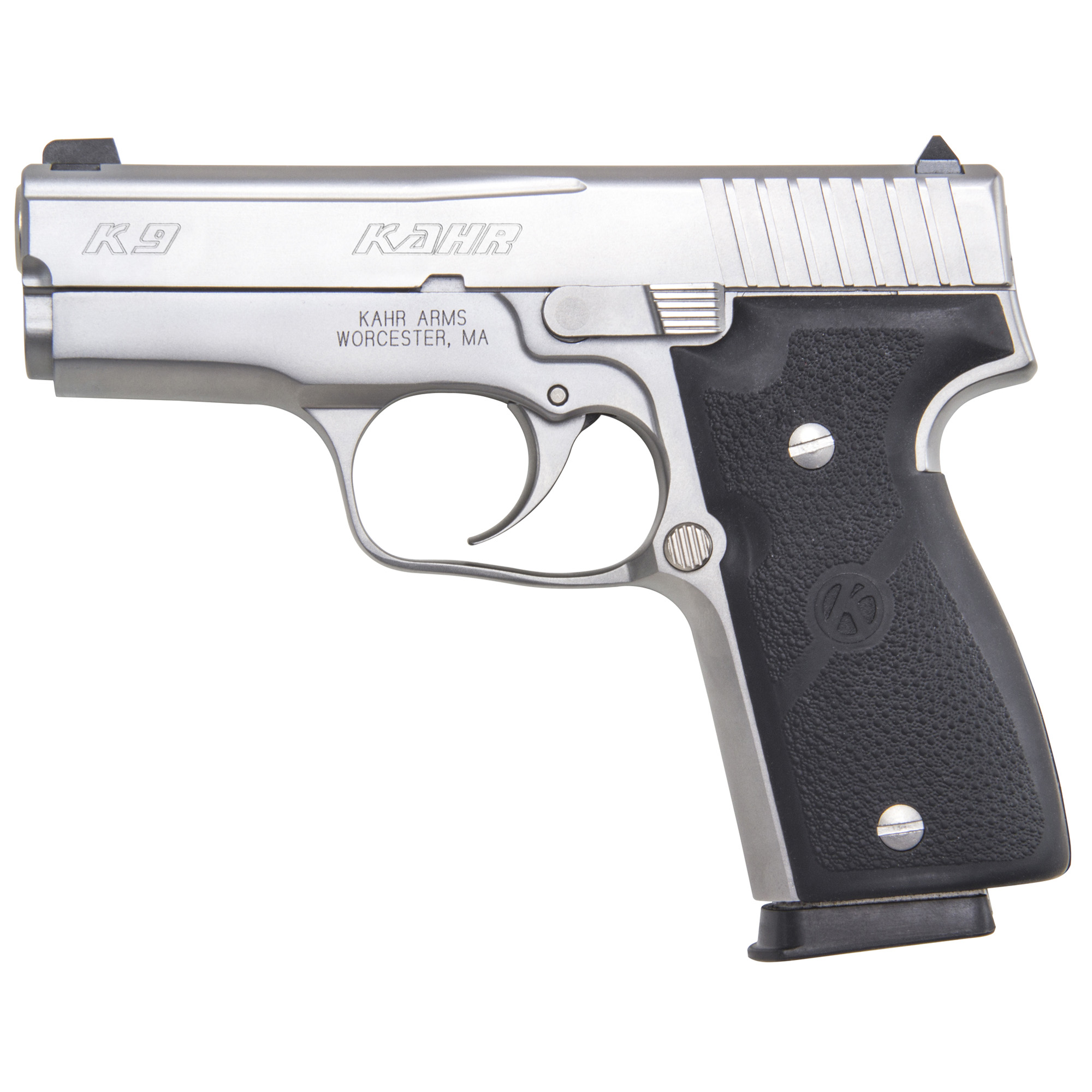 """The K Series steel 9mm was the first design rolled out of the factory in 1995"""" and the line of concealed carry handguns has continued to grow ever since. Kahr Arms offers the best concealed carry/back-up gun on the market by offering high quality and total reliability in a lightweight package."""