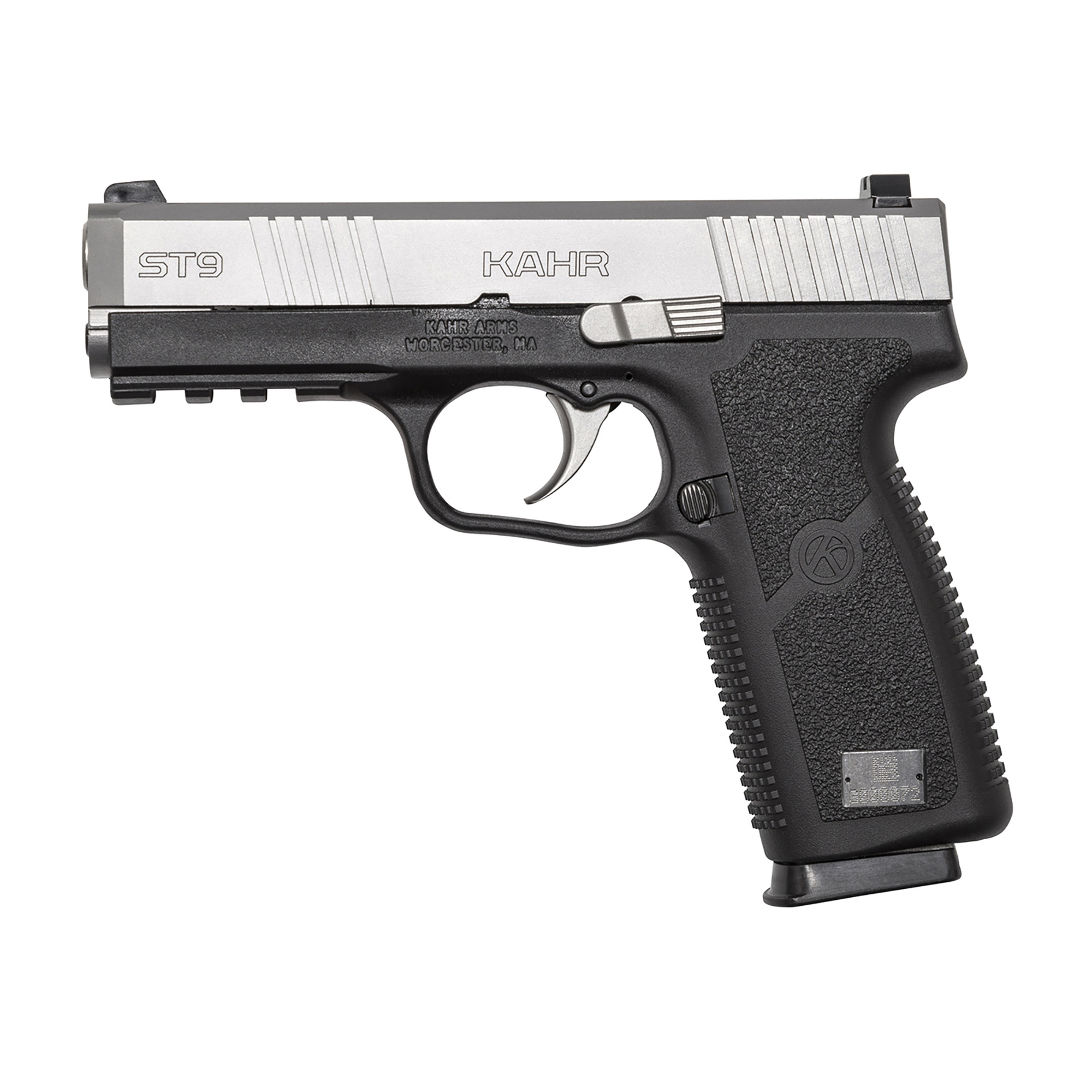"""Kahr Arms offers the best concealed carry/back-up gun on the market by offering high quality and total reliability in a lightweight package. The new """"S"""" Series features a redesigned magazine base and grip"""" a limited lifetime warranty and ships with two magazines."""