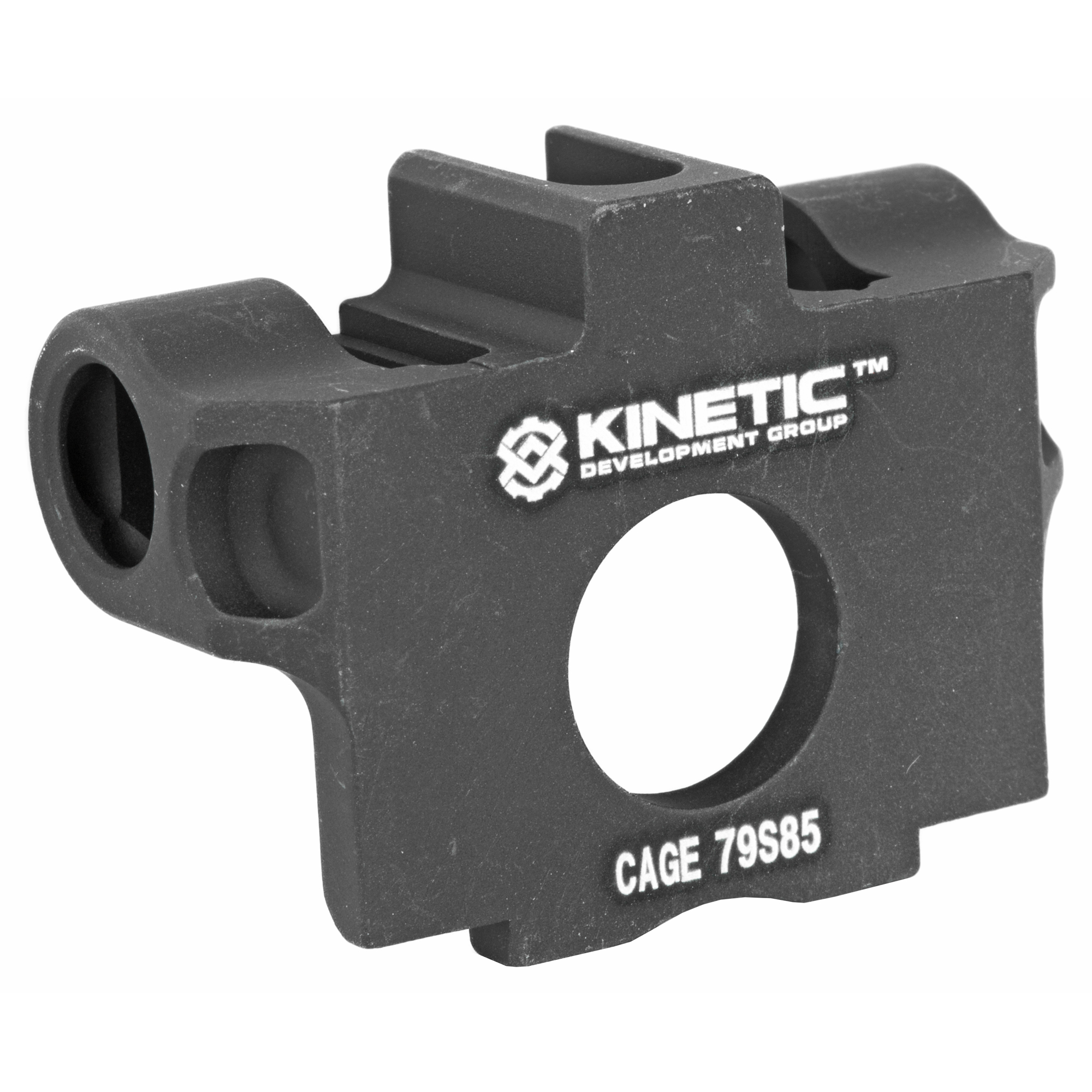"""Most shooters using the SCAR have struggled with different sling mounting solutions. The KDG designed Front Ambidextrous QD point (FAQP) mount is a deceivingly simple superiorly designed solution for any SCAR owner. The Front Ambi QD Point replaces the existing factory """"HK"""" point piece with a QD mounting point on either side of the rifle. KRG specifically wanted a more rugged"""" streamlined mount that is failure proof and looks more like a factory part then a bulbous aftermarket accessory. You can be confident that the FAQP mount will outperform our competition. You will look at the lines and style of your rifle so well you'll wonder why the SCAR wasn't designed with it!"""