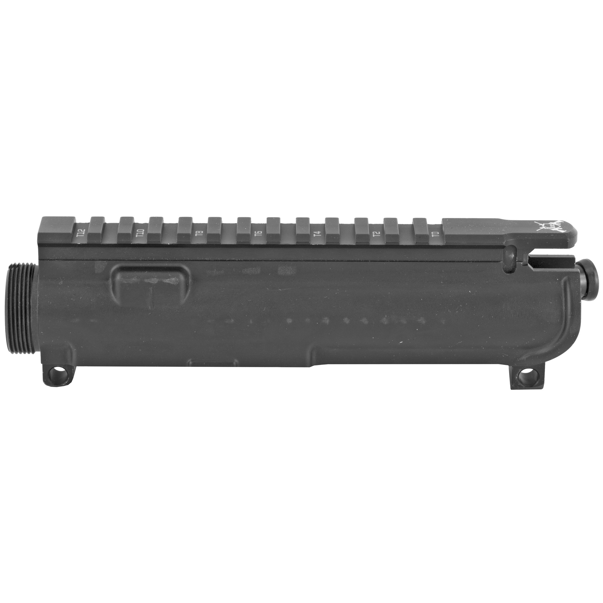 """The KE-15 forged flat top complete upper receiver is precision machined from 7075-T6 forgings to MilSpec standards"""" made to fit all M16/M4 rifles and carbines. Featuring USGI type T marked top"""" making it easy to remount any of your tactical accessories. M4 Feed ramps are machined into the upper. Milspec type III hard anodized and ready to be assembled with your choice of components."""