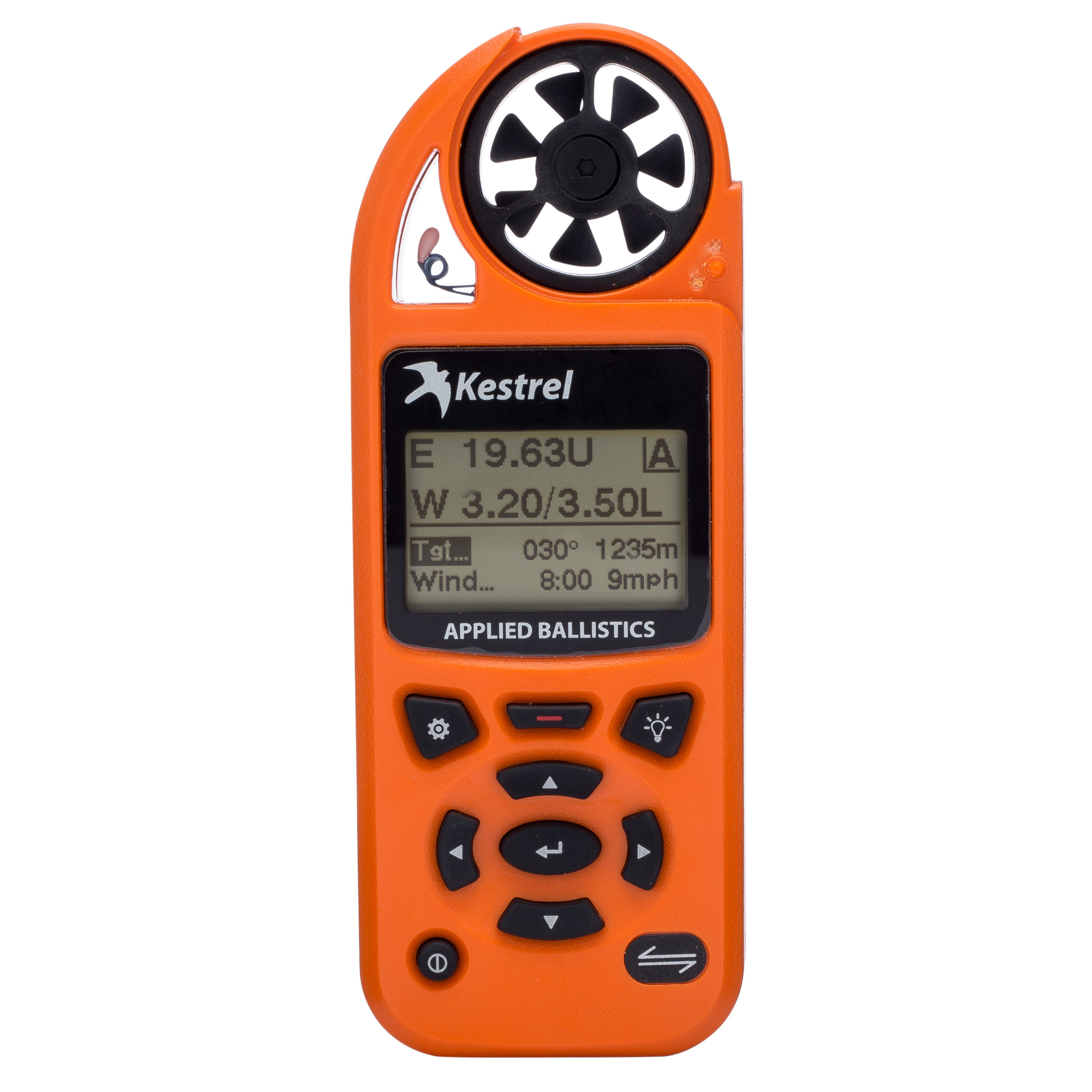 "The Kestrel 5700 Elite Weather Meter with Applied Ballistics is a comprehensive weather meter for measurement and logging of primary environmental conditions"" including wind speed and direction"" temperature"" humidity"" heat index"" pressure"" and altitude. It also contains a powerful ballistics calculator to help you hit your long-range shot on the first try. This meter employs the Applied Ballistics bullet library of custom drag models"" an exact measurement of your bullet's drag profile plus corrections for Aerodynamic Jump"" Spin Drift"" Coriolis"" and Drop Scale Factoring to achieve accurate extended long-range shots."