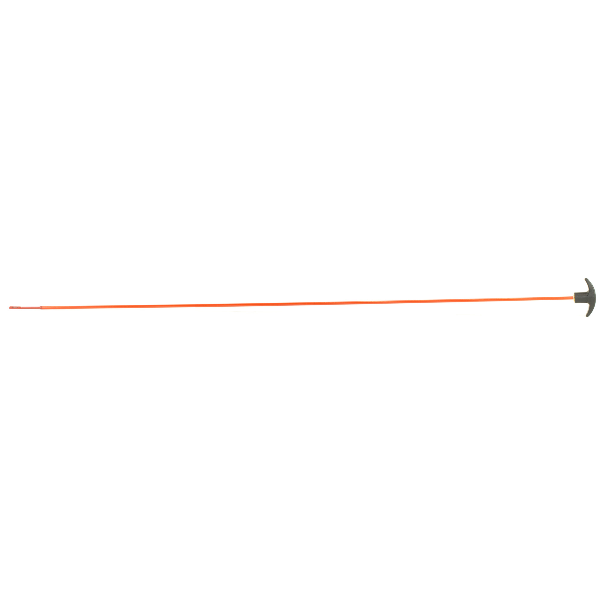 """This 33"""" Saf-T-Clad rod comes with a protective muzzle guard and coated patch holder. This non-segmented"""" economical rod can be used to clean .22-.45 caliber rifles."""