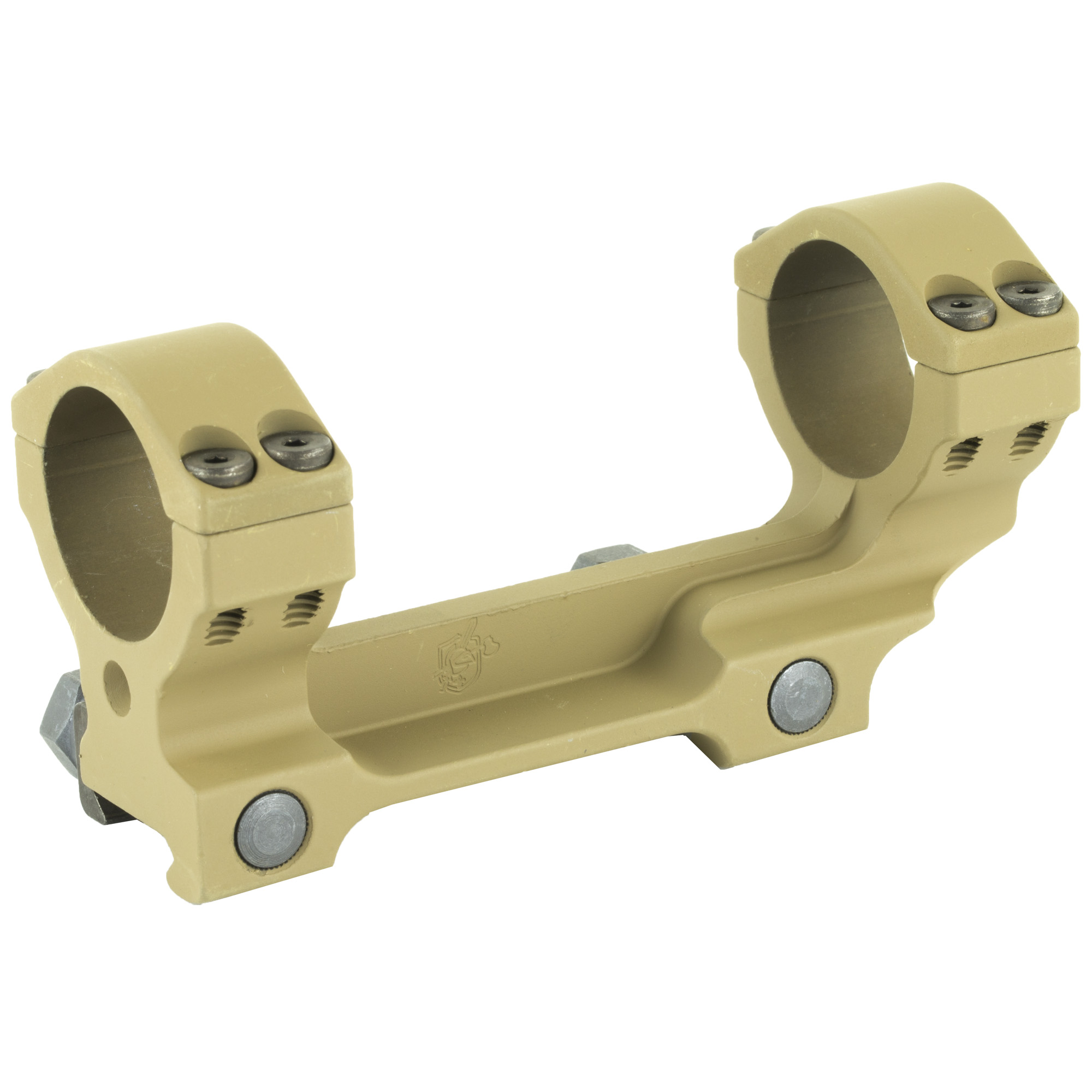 This KAC 30mm 1-Piece Scope Mount is constructed of lightweight aluminum and is compatible with any Picatinny-type top rail. It is the scope mount that was developed for use in the M110 SASS rifle package.
