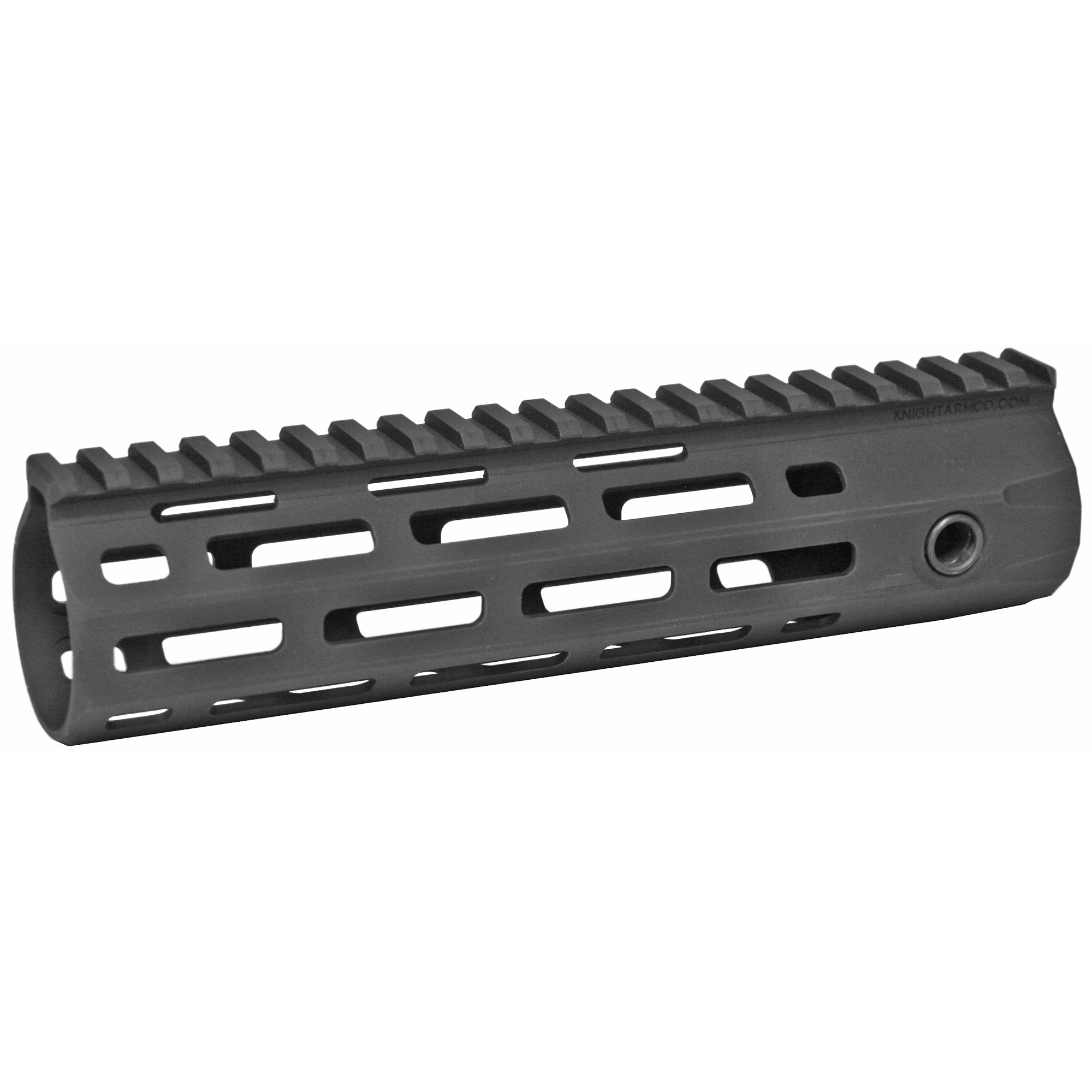 """Knights Armament Co.'s URX 4 8.5"""" M-LOK Forend Assembly Kit is a fully modular design that utilizes the revolutionary M-LOK accessory mounting system. The URX 4 Rail is stronger and more stable than previous URX designs due to its one-piece construction. It is also lighter due to its Integral Barrel Nut (IBN) system of attachment. The IBN system allows the rail itself to act as the barrel nut when torqued onto the rifle"""" completely eliminating the need for a separate steel barrel nut. M-LOK accessories may be mounted anywhere along the URX 4's length"""" making it one of the most user configurable designs on the market."""
