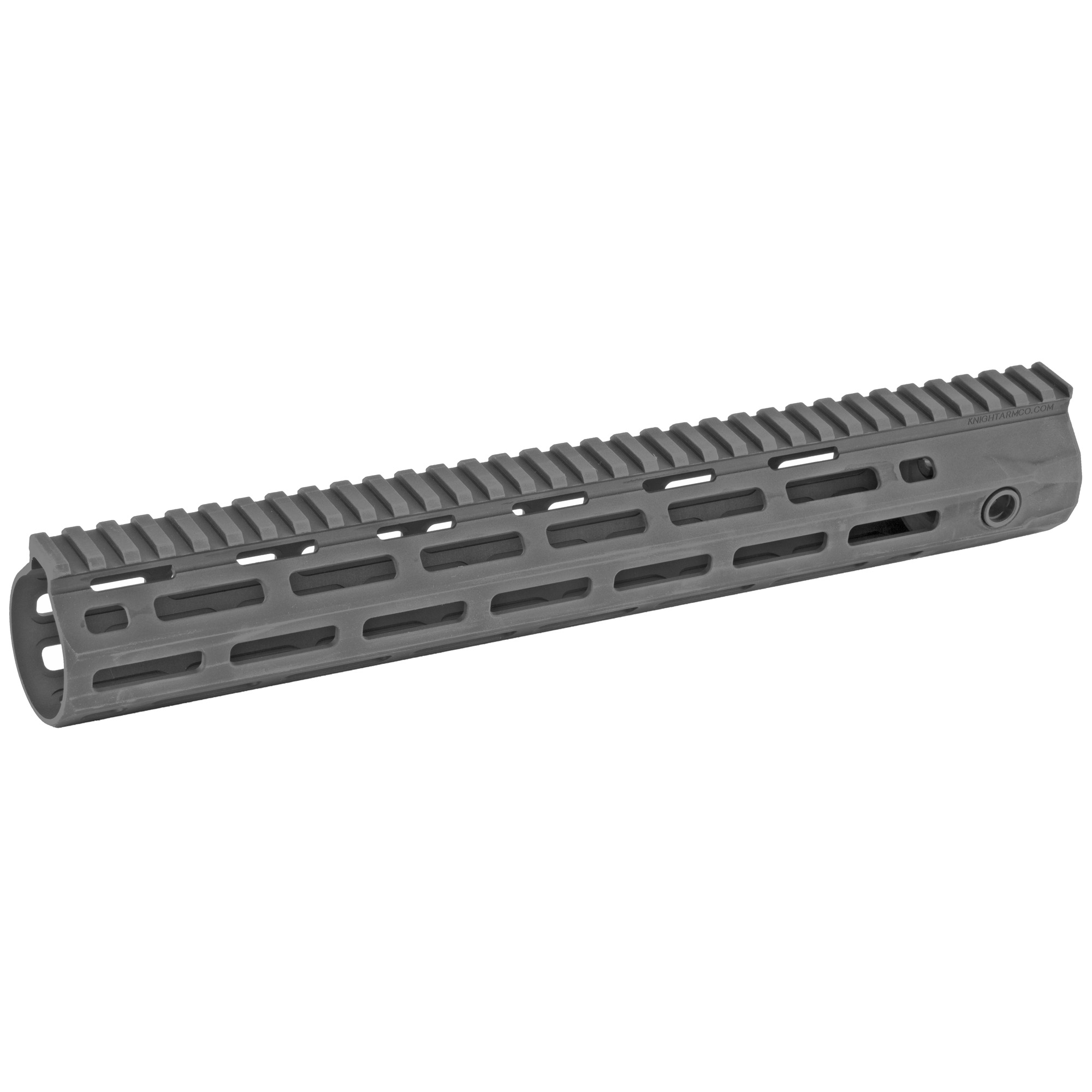 """Knights Armament Co.'s URX 4 13"""" M-LOK Forend Assembly Kit is a fully modular design that utilizes the revolutionary M-LOK accessory mounting system. The URX 4 Rail is stronger and more stable than previous URX designs due to its one-piece construction. It is also lighter due to its Integral Barrel Nut (IBN) system of attachment. The IBN system allows the rail itself to act as the barrel nut when torqued onto the rifle"""" completely eliminating the need for a separate steel barrel nut. M-LOK accessories may be mounted anywhere along the URX 4's length"""" making it one of the most user configurable designs on the market."""