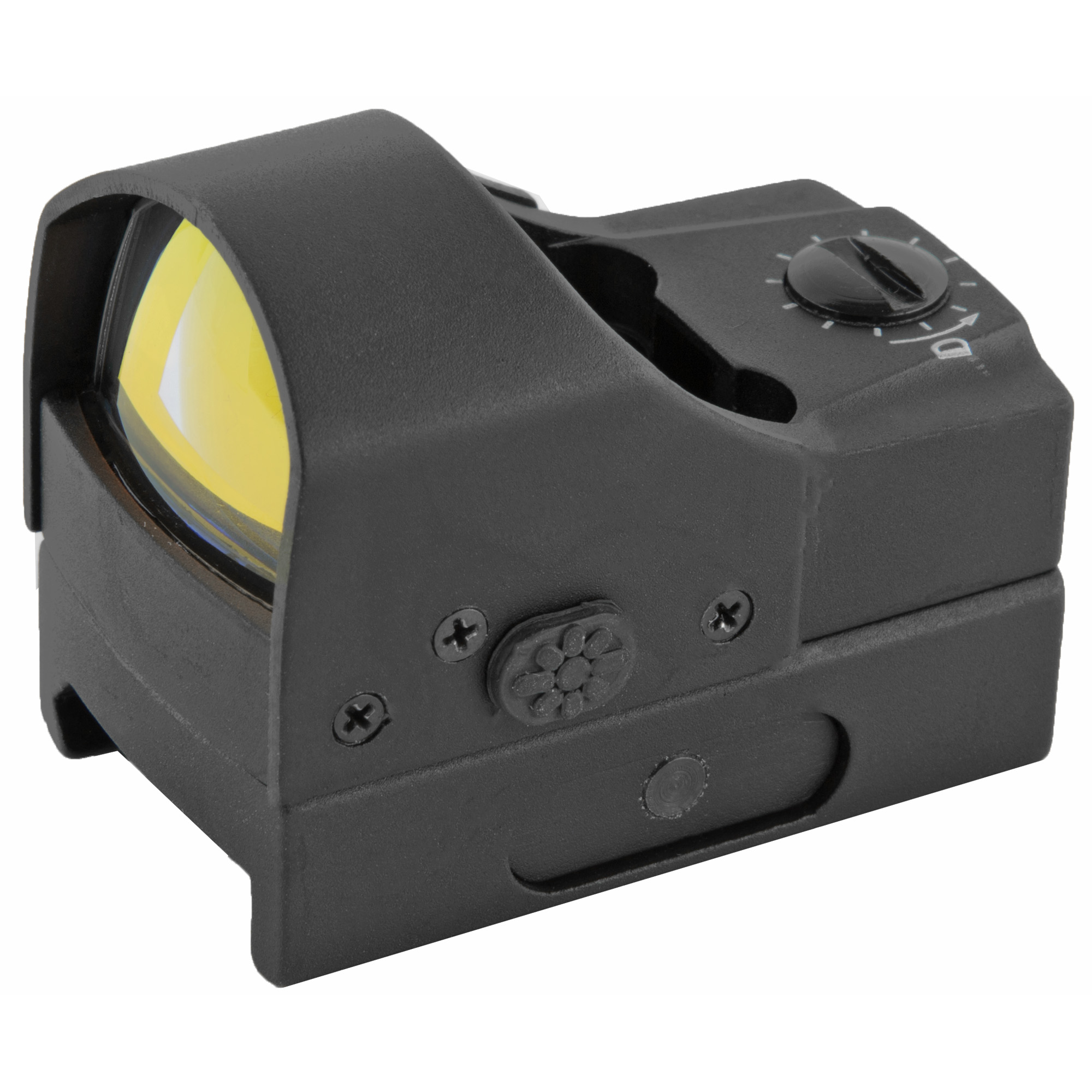 "The SightPro Fission 2.0 is a micro-compact electronic dot sight. If you're looking to minimize weight"" then this 1.76 oz. device is exactly what's needed. Perfect for use on handguns & shotguns"" but also a terrific choice to mount on the side of a scope for CQ situations. The 4 MOA dot can be illuminated with 5 intensity settings for all lighting conditions. The strategically placed push button control switch separates the Fission from other models in the market by keeping your battery life running at optimum performance while staying clear of the shooters line of sight. The full body cover keeps your scope clean and in tip-top condition when not in use."