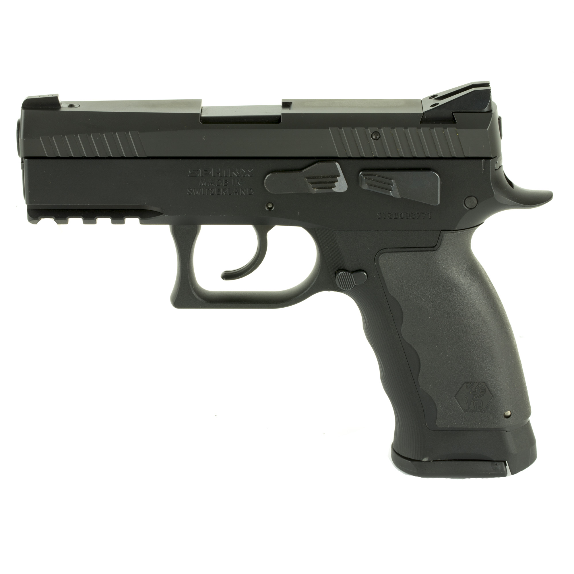 The enlarged grip of the SPHINX SDP Compact Duty provides ample space for larger hands to get a full solid grip of the firearm for maximum comfort and control. The smooth take up and clean break of the competition inspired trigger gives you accurate and precise control of each shot.