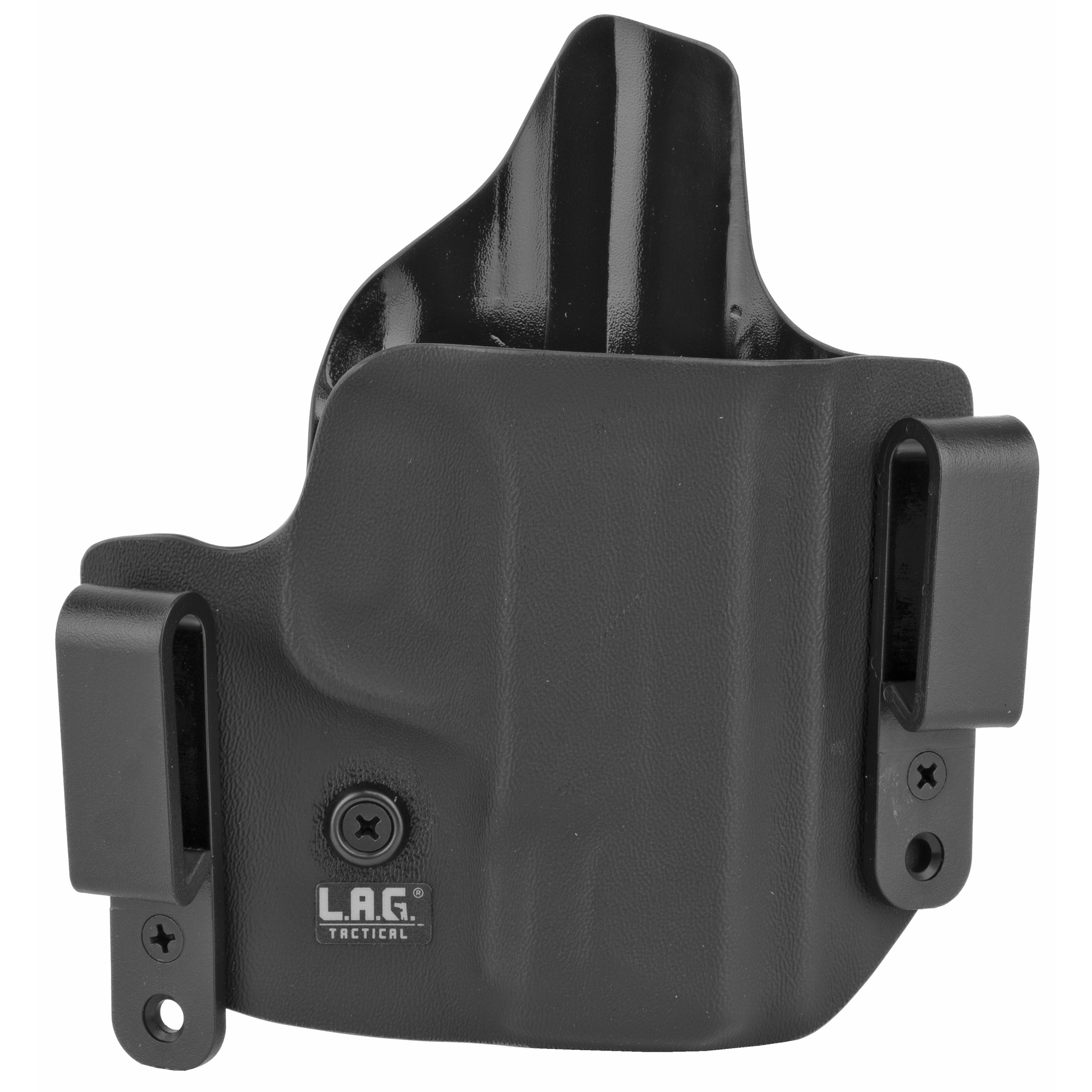 L.A.G. Tactical, Inc. S&W M&P Shield 45Acp Defender Right Hand Kydex Holster – Black