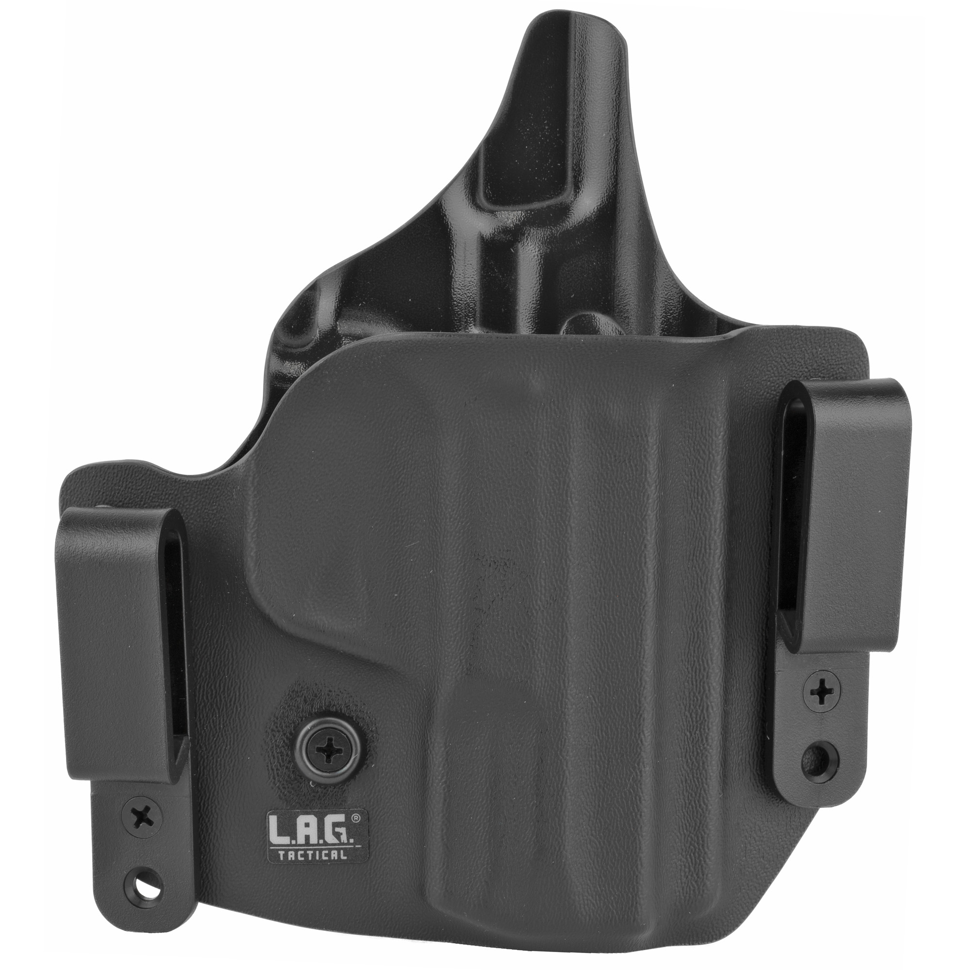 L.A.G. Tactical, Inc. S&W M&P M2.0 3.6″ 9/40 Defender Right Hand Kydex Holster – Black