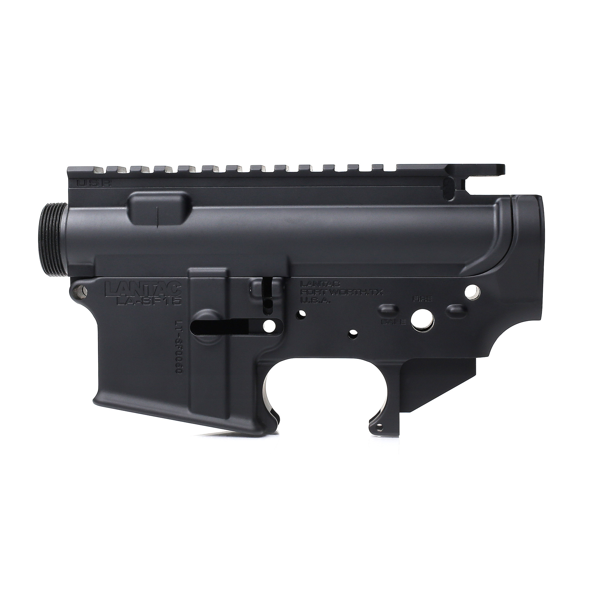 The LANTAC LA-SF15(TM) Forged Receiver Set is packed with 'above milspec' features that makes it the ideal choice for shooters looking for an enhanced configuration while retaining a traditional look.