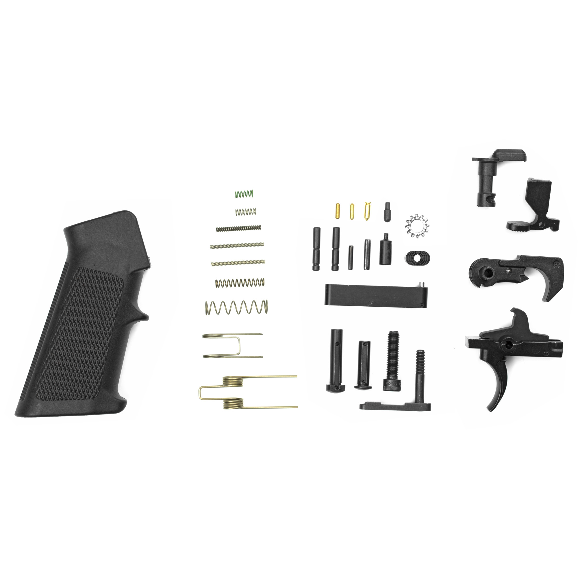 AR15 Complete Lower Parts Kit. Perfect for your next custom build.